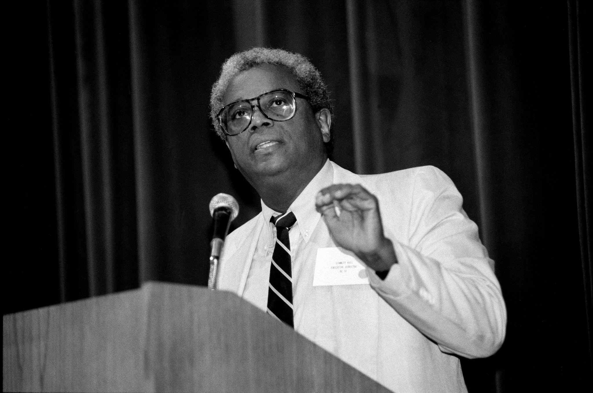 Stanley Hill Sr., the former executive director of DC 37 died last week. Photo courtesy of Leroy Comrie.
