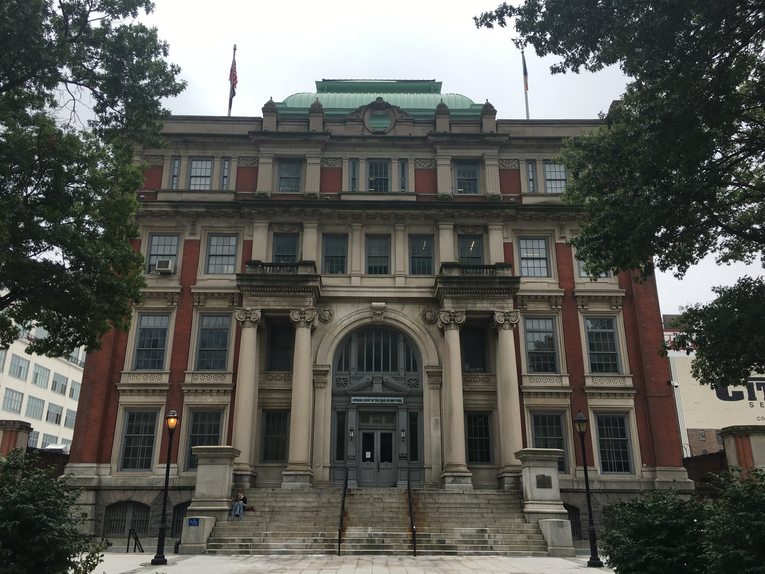 Civil court in Long Island City. Eagle photo by Clarissa Sosin