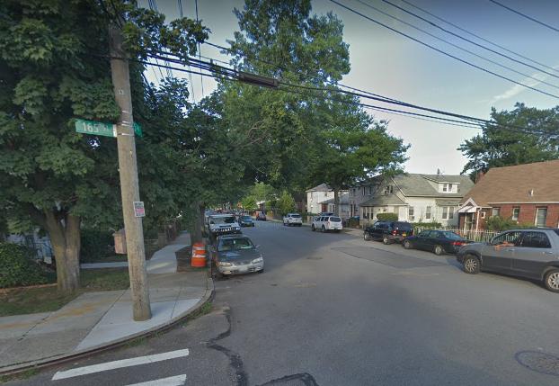 The Jamaica intersection near where Harnam Thakoor was found unresponsive. Photo via Google Maps.