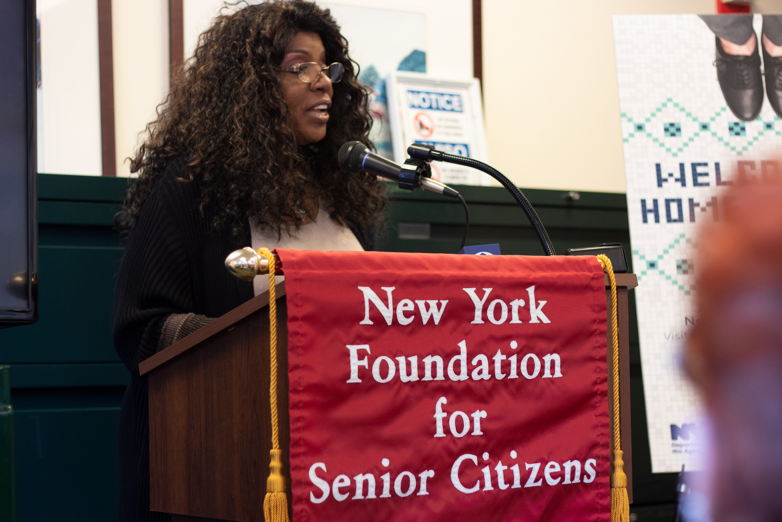 Disco singer Gloria Gaynor was recently named a spokesperson for the Home Sharing program.