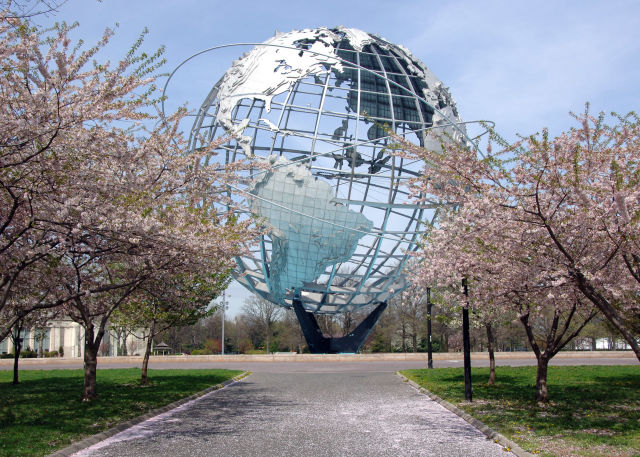 Flushing Meadows Corona Park. Photo via the NYC Parks Department.