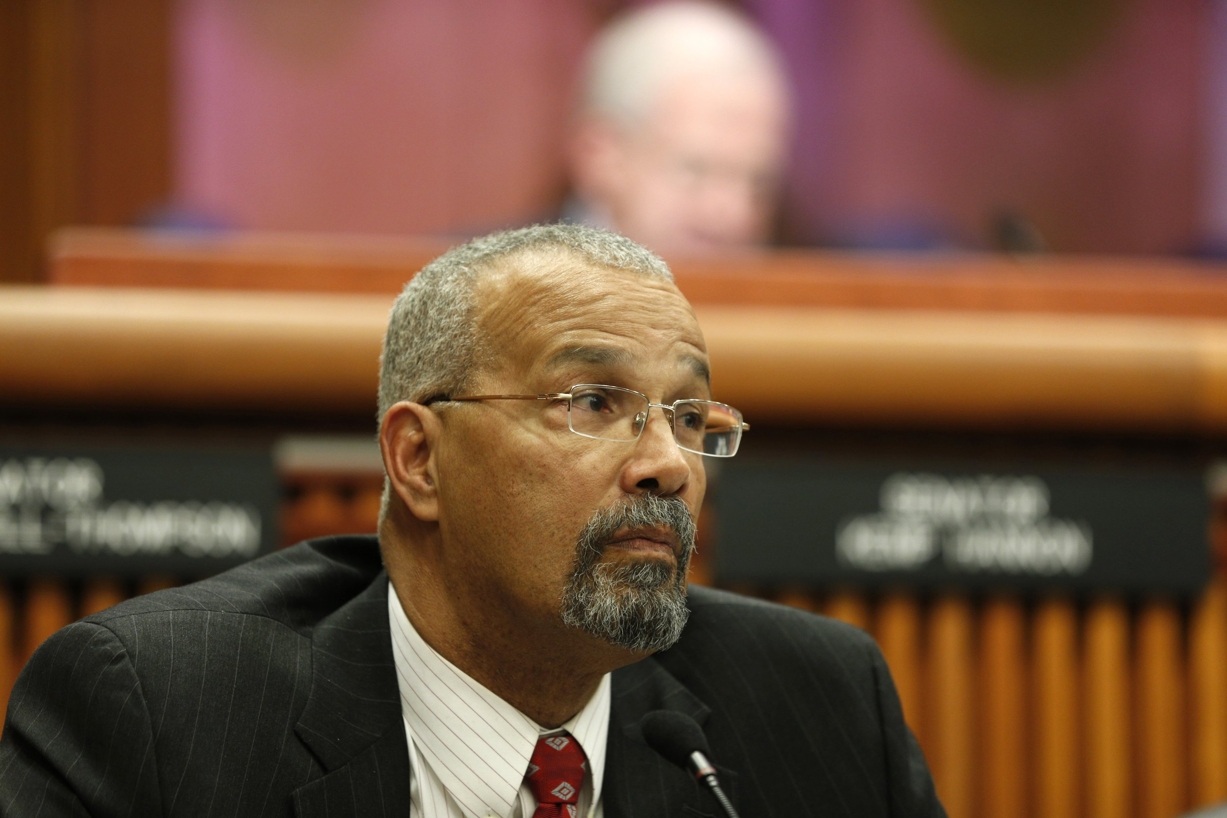 Assemblymember Jeffrion Aubry has sponsored a bill to curtail solitary confinement. AP Photo/Mike Groll, File