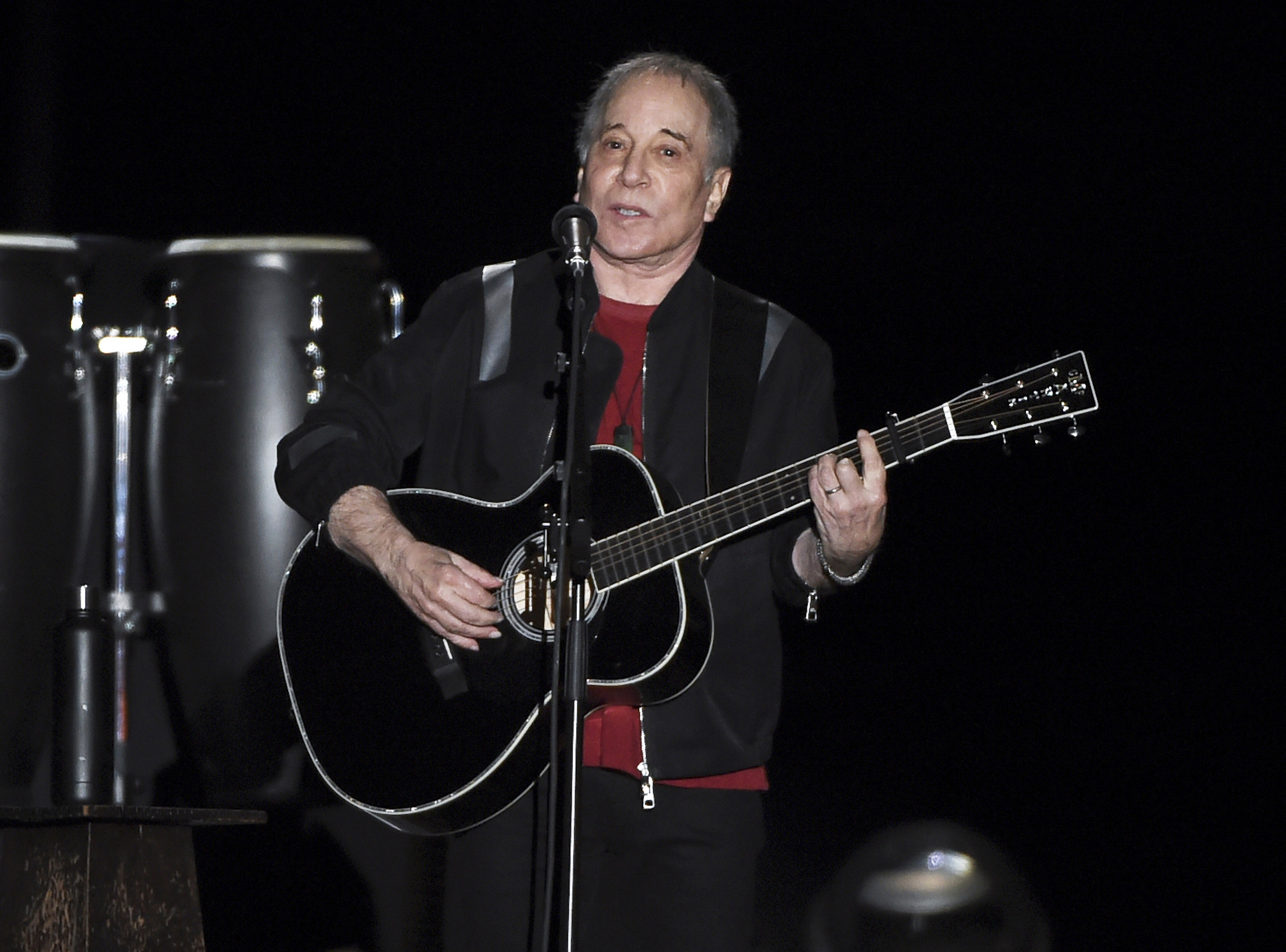Paul Simon performs at Flushing Meadows Corona Park in September 2018. Photo by Evan Agostini/Invision/AP, File.
