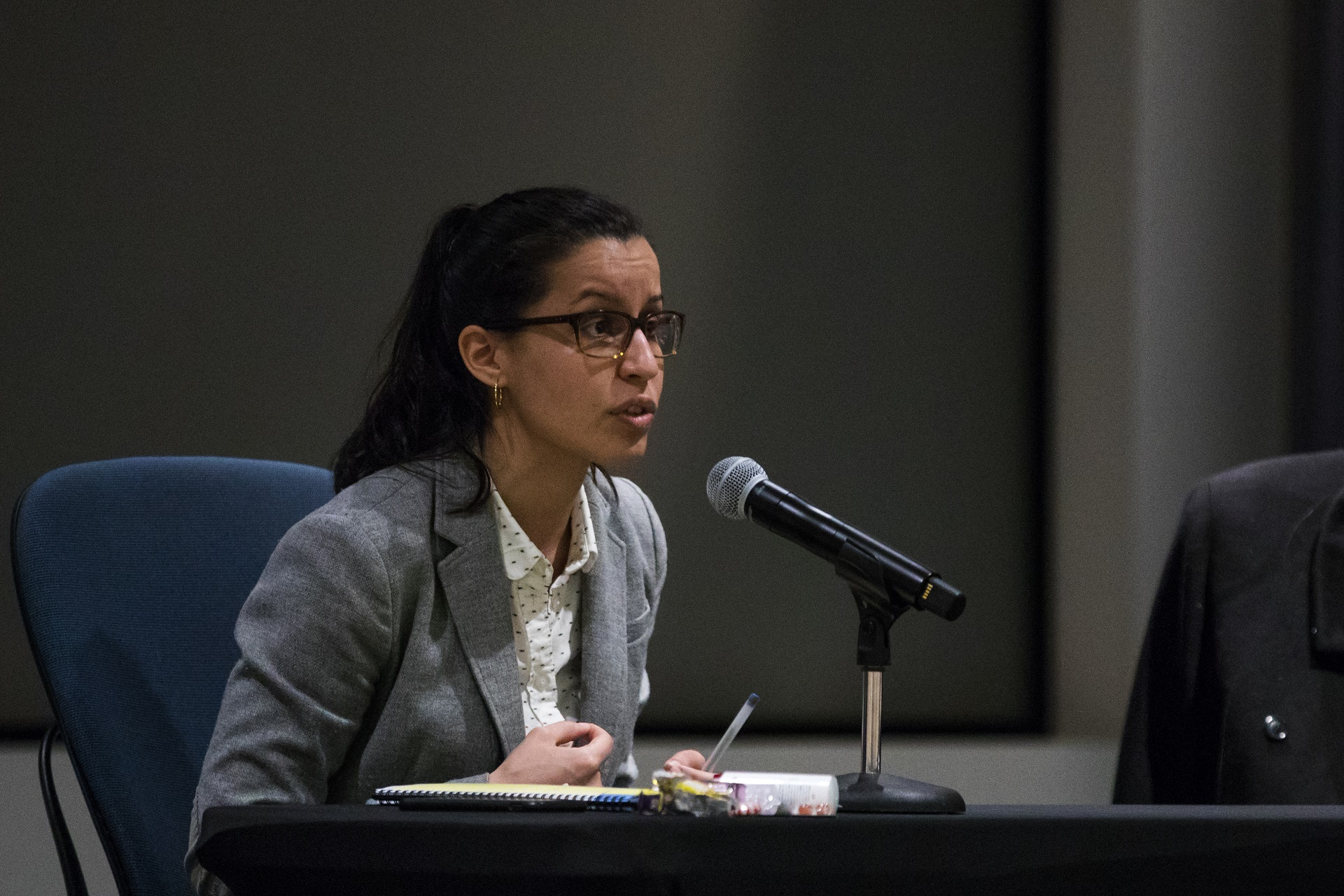 Public defender Tiffany Cabán also said she would release the database.  Eagle  file photo by Paul Frangipane