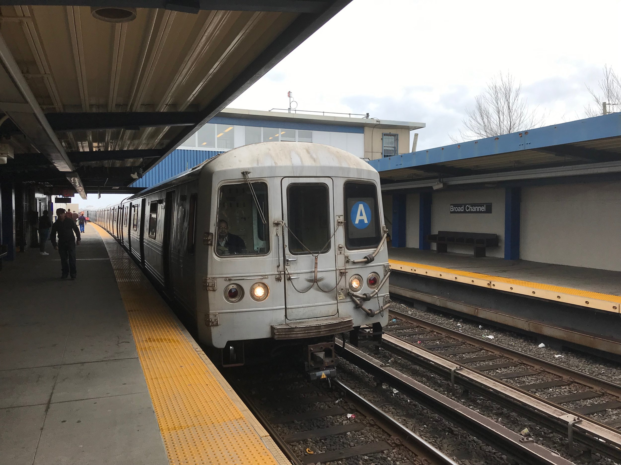 The A train.  Eagle  file photo by Jonathan Sperling.