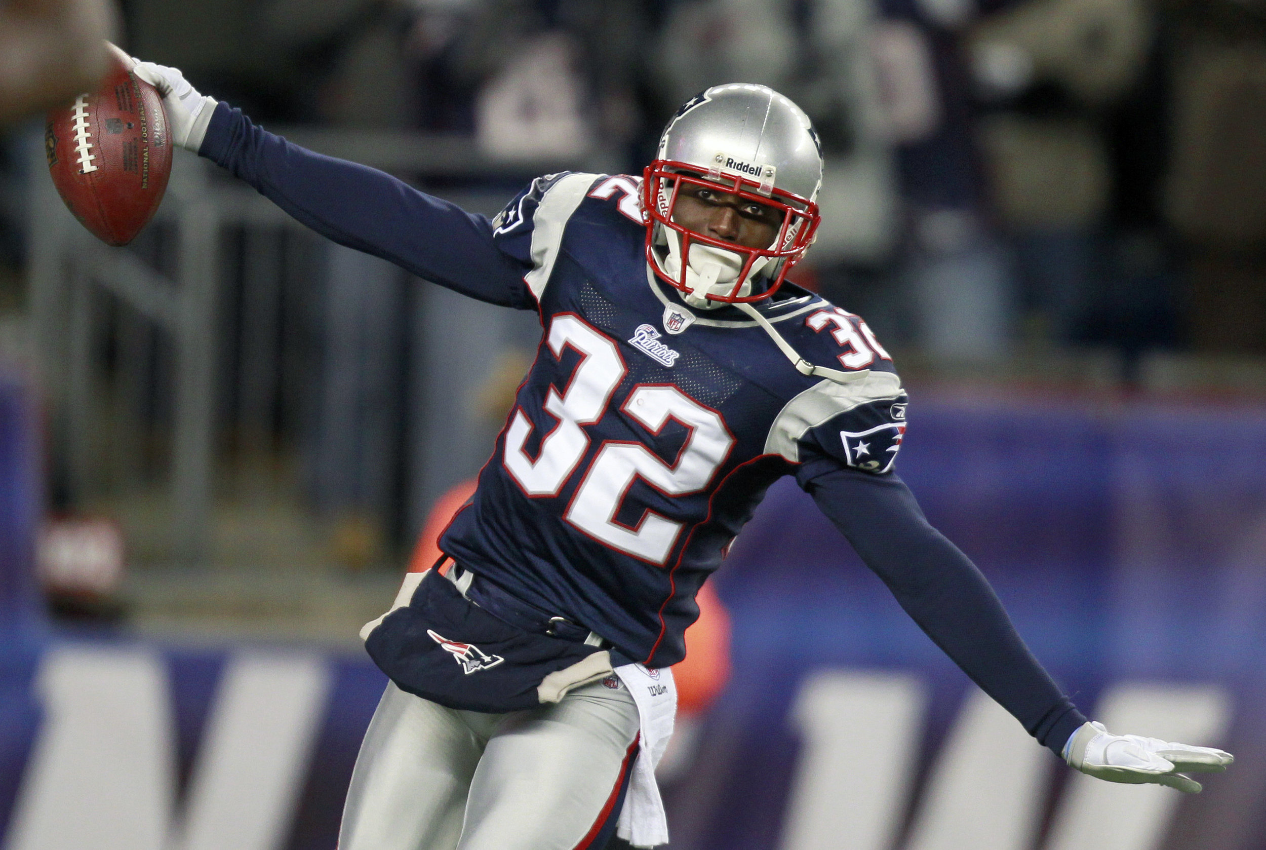 All Pro Defensive Back Devin McCourty will host a Queens DA candidates forum organized by the Players Coalition, an organization of NFL players who advocate for criminal justice reform. AP Photo/Michael Dwyer