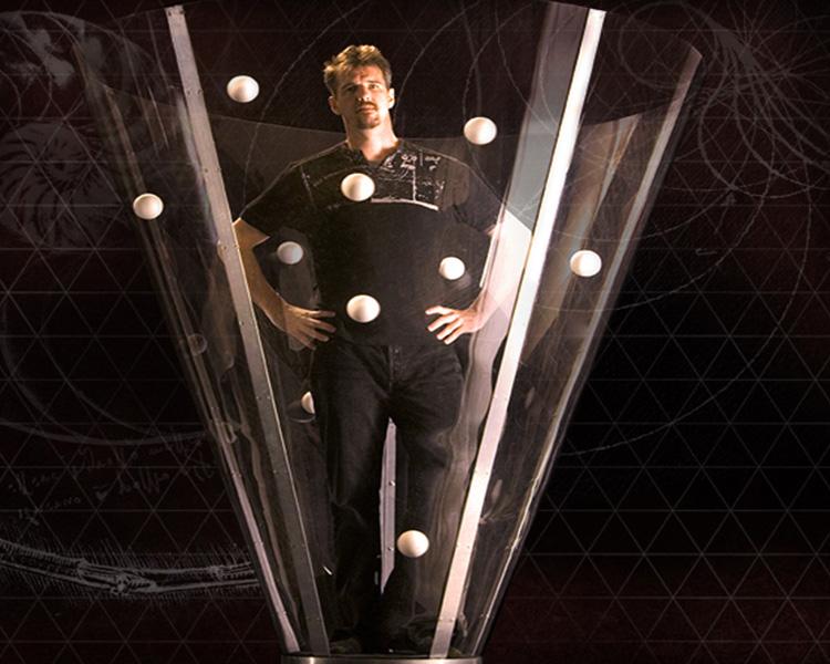 Spherus Cirque performs at Queens College's Colden Auditorium on Sunday. Photo courtesy of Queens College.