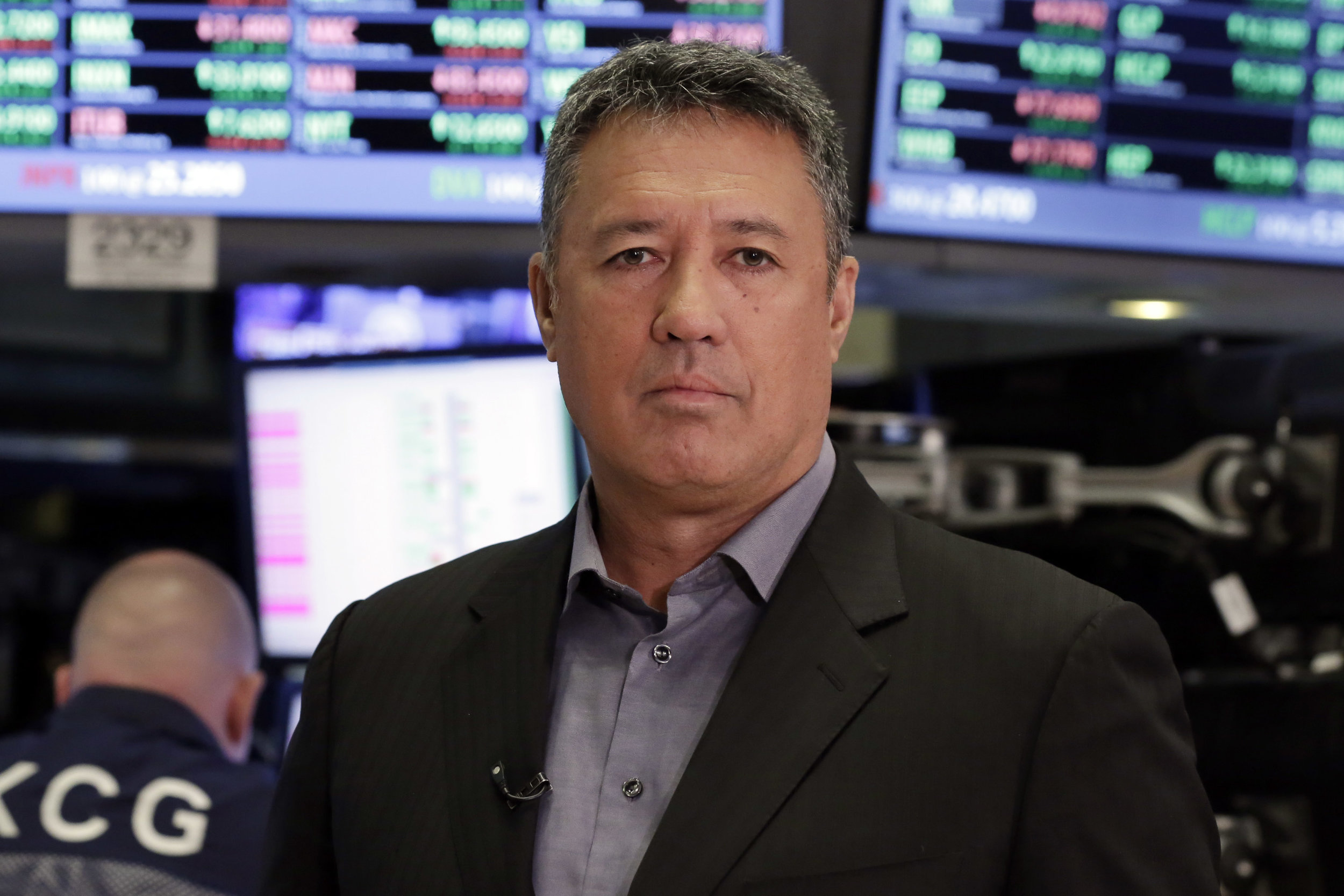 New York Mets announcer and former player Ron Darling. AP Photo/Richard Drew.
