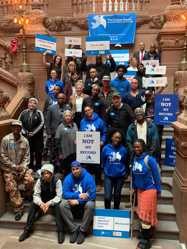 Advocates urge Gov. Andrew Cuomo to pardon more immigrants with criminal histories who are at risk of deportation. Photo courtesy of the Fortune Society