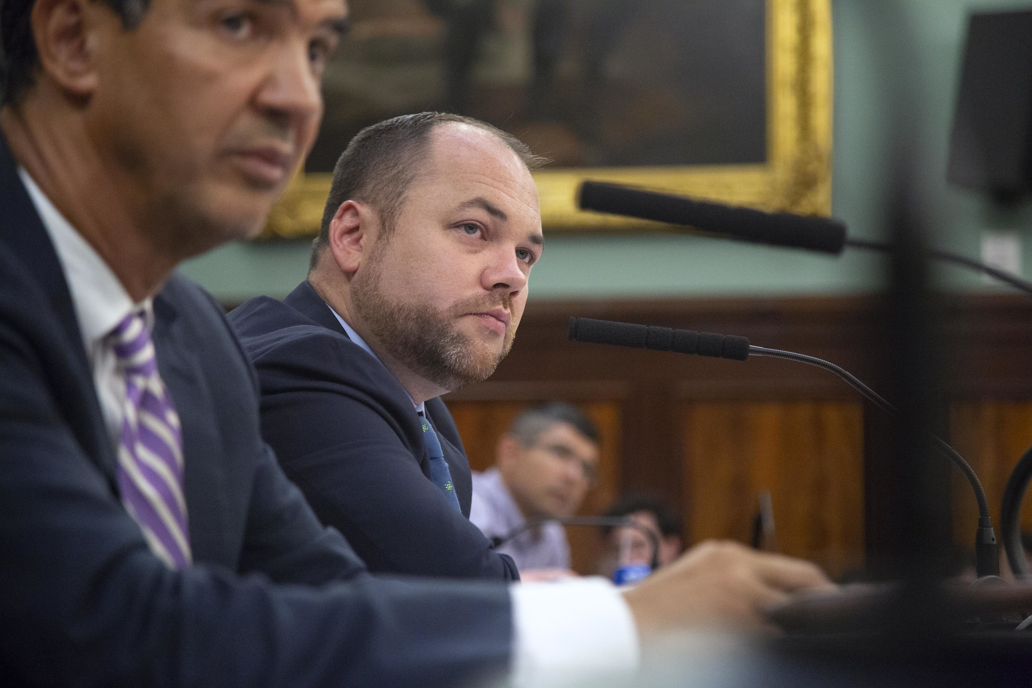 City Council Speaker Corey Johnson urged state lawmakers to repeal the loitering law without decriminalizing the sex trade. Photo by John McCarten/City Council via Flickr