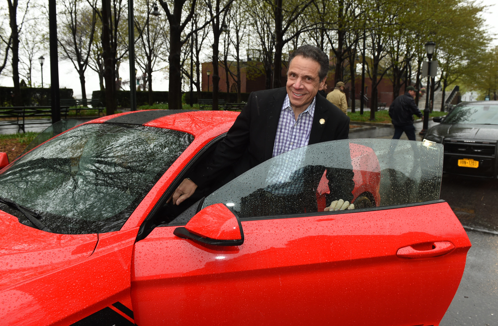 Vroom vroom.  Kevin P. Coughlin/Office of Governor Andrew M. Cuomo