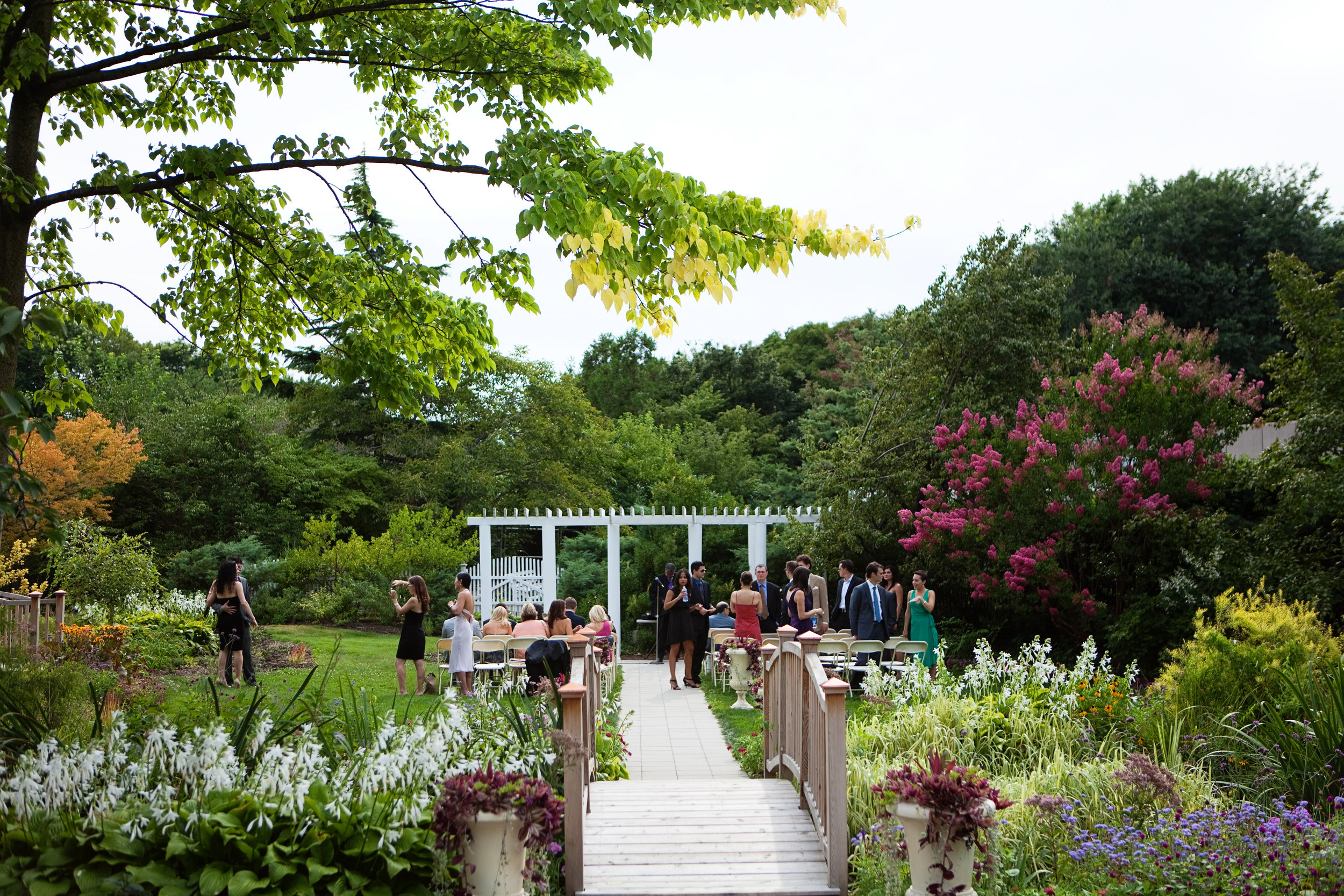 Have your love bloom at the Queens Botanical Gardens. Photo courtesy of the Queens Botanical Garden.