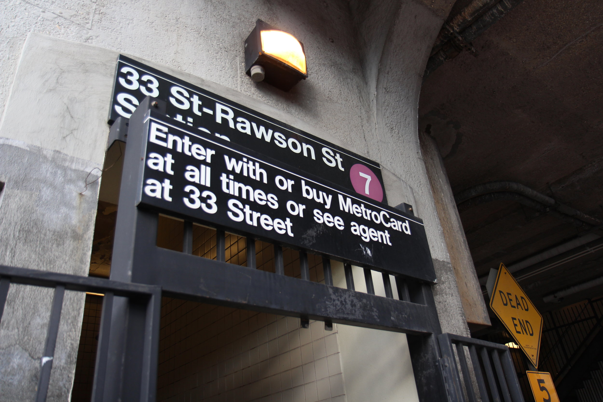 The 33rd Street-Rawson Street Station on the No. 7 line is one of the many subway stations in Queens that is not ADA-accessible.