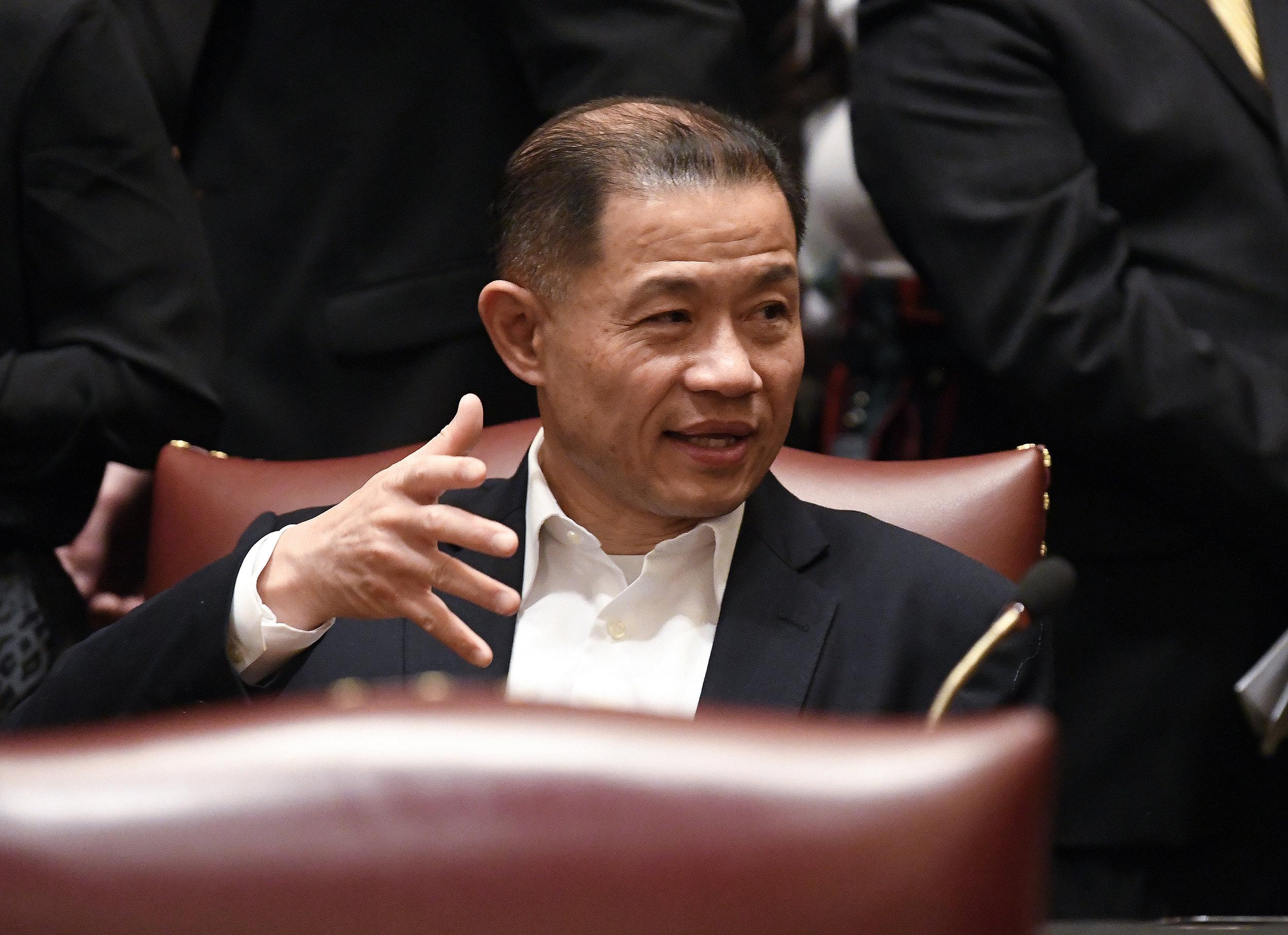 State Sen. John Liu. AP photo