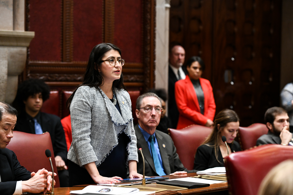 State Sen. Jessica Ramos sponsored the bill to ensure carwash workers earn minimum wage. Photo courtesy of Ramos' office