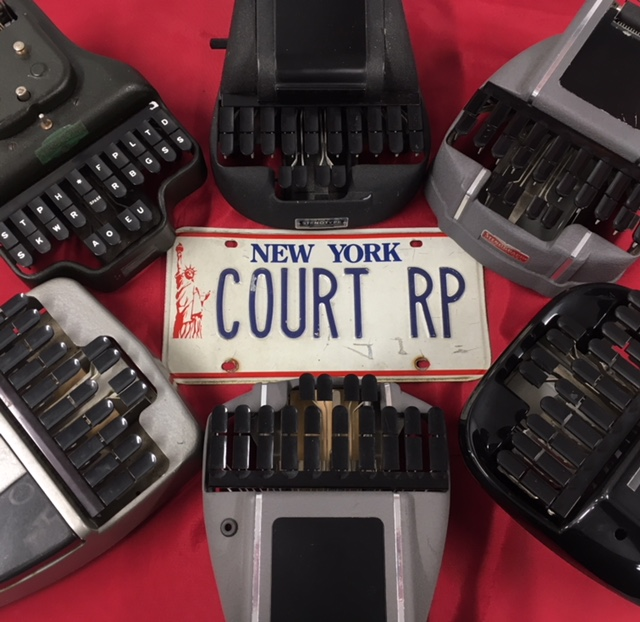 There is a shortage of trained court reporters in New York.