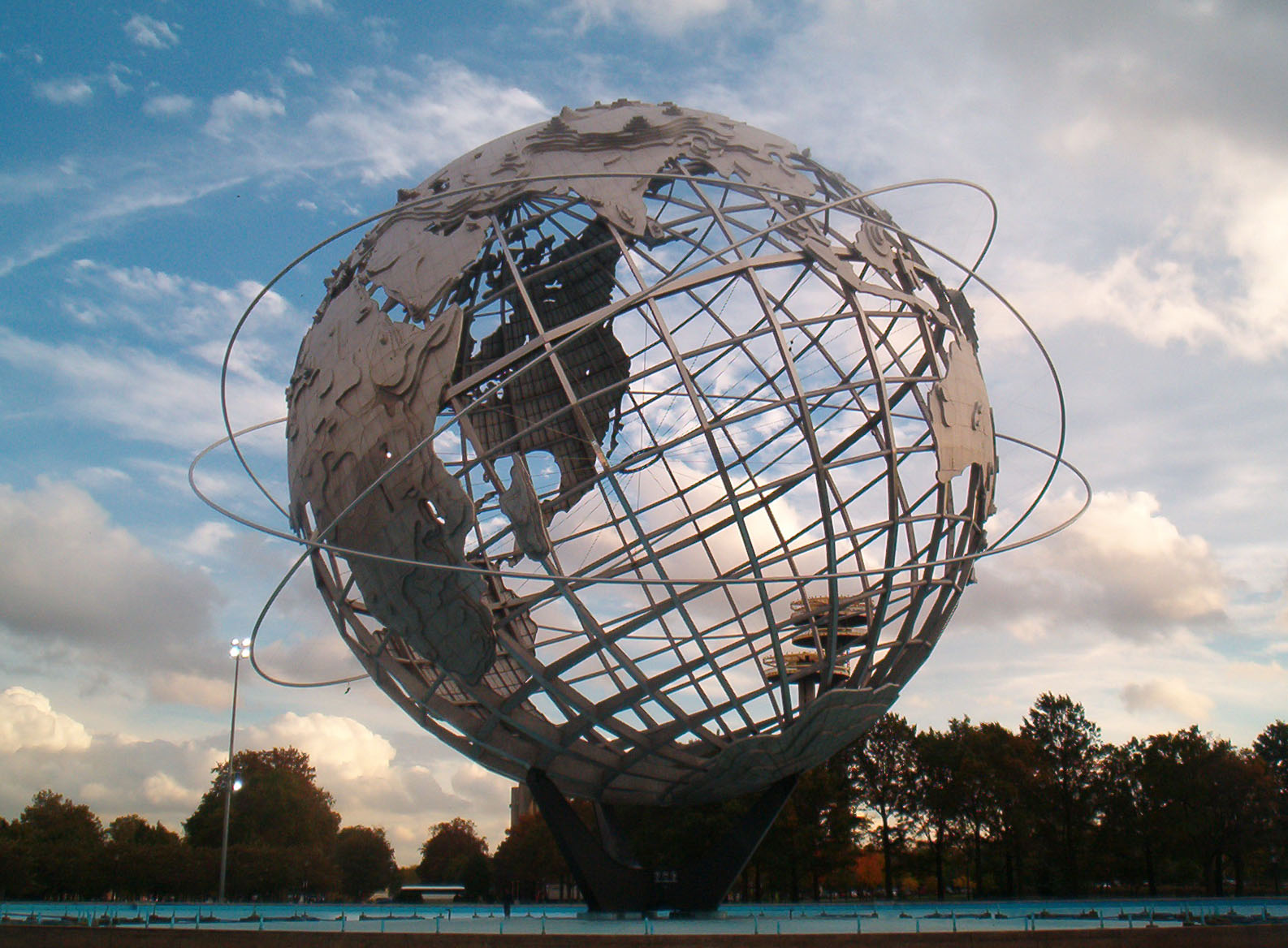 Flushing's latest expo models itself off the global feel of the 1964 World's Fair, famously represented through its classic Unisphere at Flushing Meadows Corona Park. Photo by Sam Howzit via Flickr.