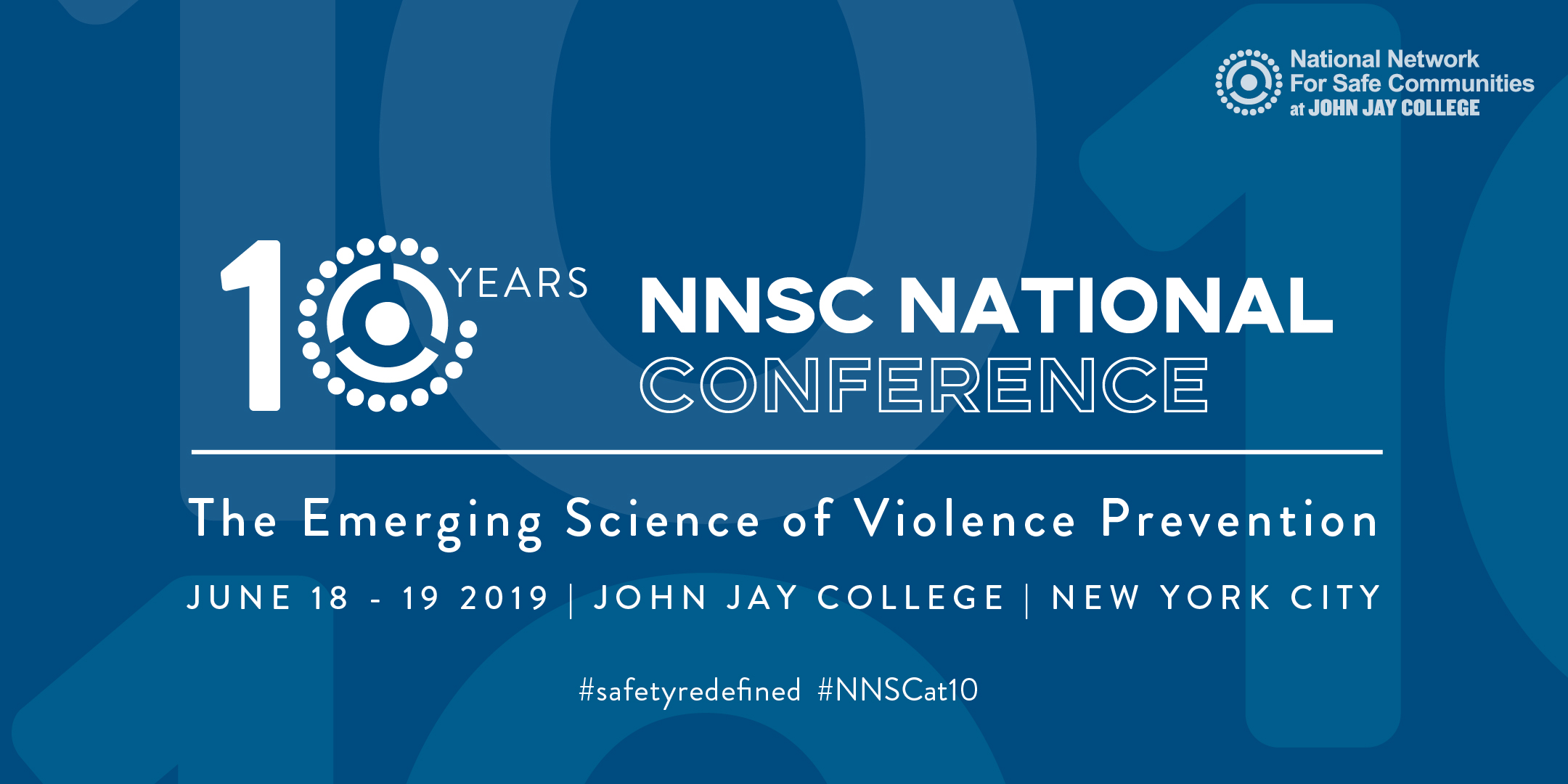 The National Network for Safe Communities will host its fifth annual criminal justice conference.  Flyer courtesy of the National Network for Safe Communities.
