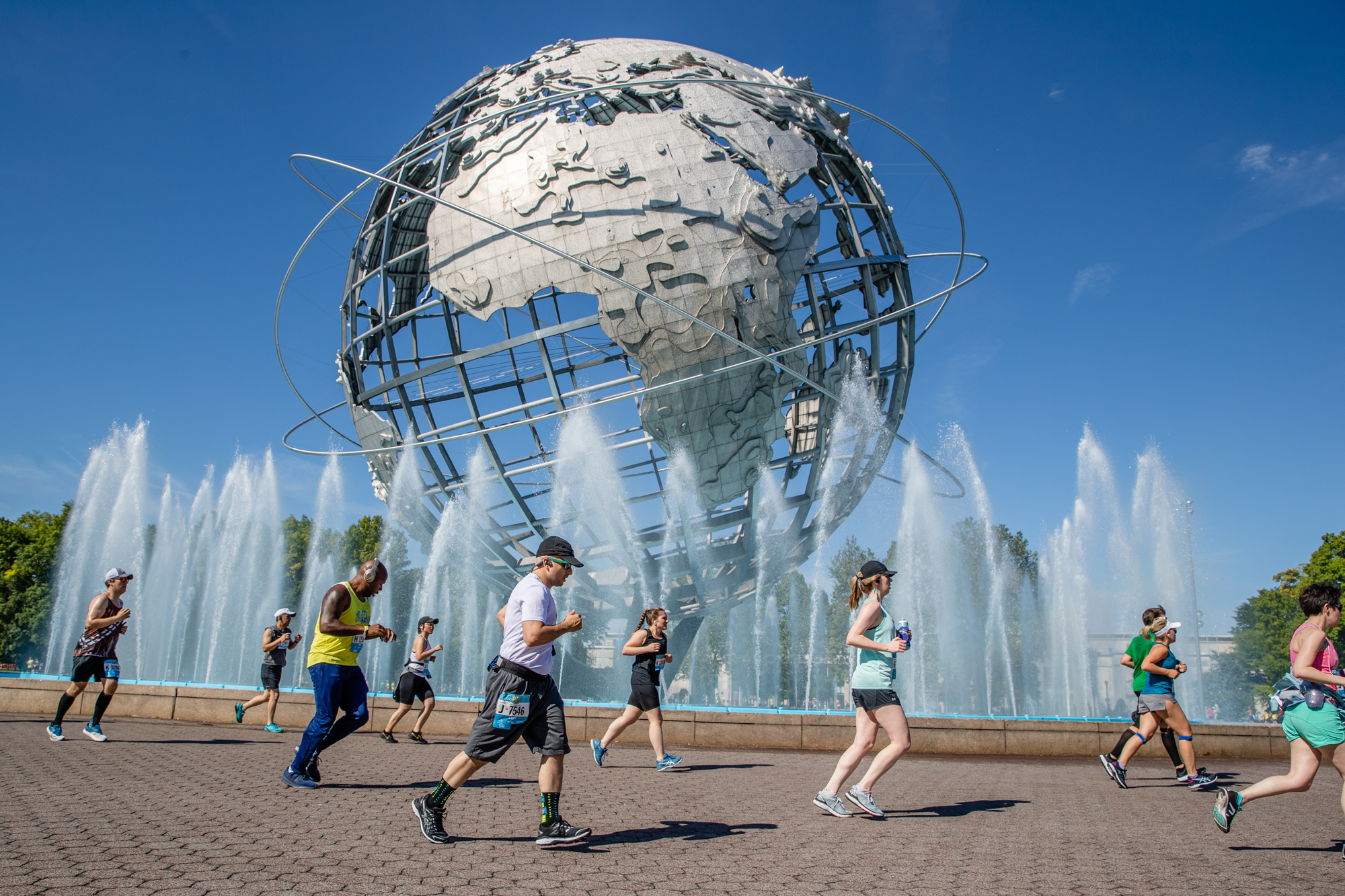 Just under 12,000 runners competed in the New York Road Runners 10K this weekend in Flushing Meadows Corona Park. Photos courtesy of NYRR.