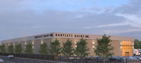 A new Bartlett Dairy facility will open in 2020. Rendering courtesy of NYCEDC.