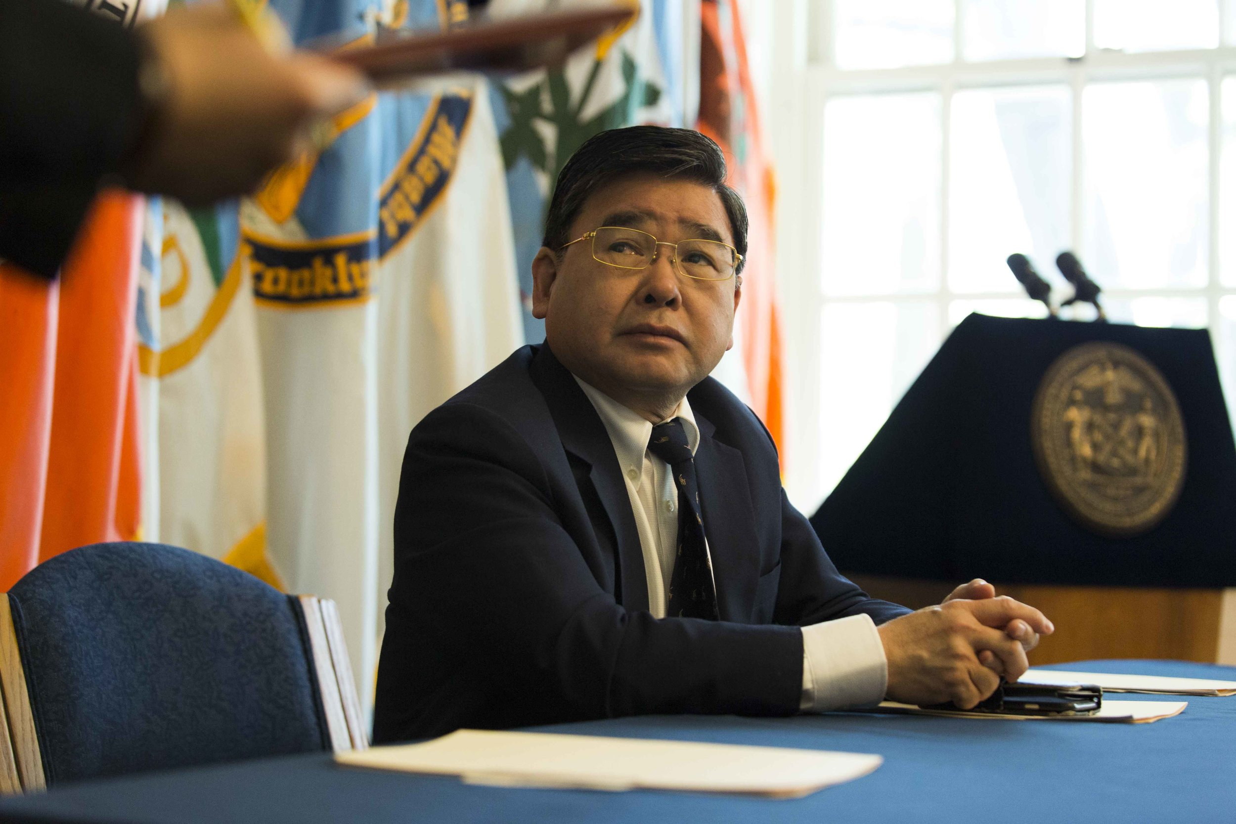 Councilmember Peter Koo takes over as new chair of the Council's Committee on Parks and Recreation. Photo by Emil Cohen via City Council/Flickr.