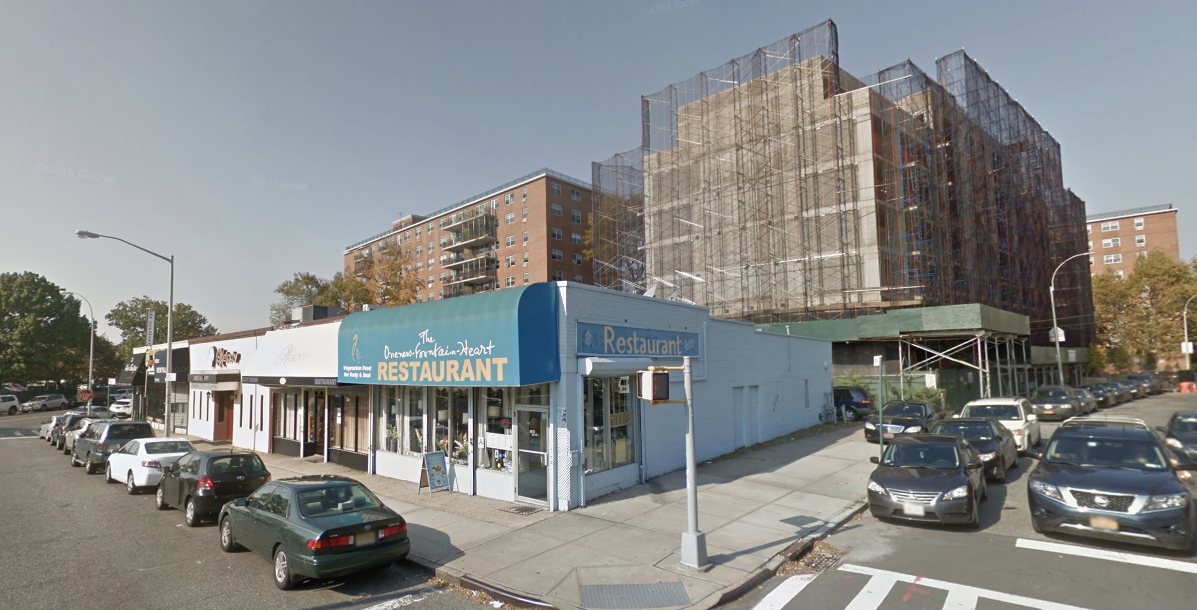 Oneness Fountain Heart will close at the end of the month after 21 years in Flushing. Photo via Google Maps.