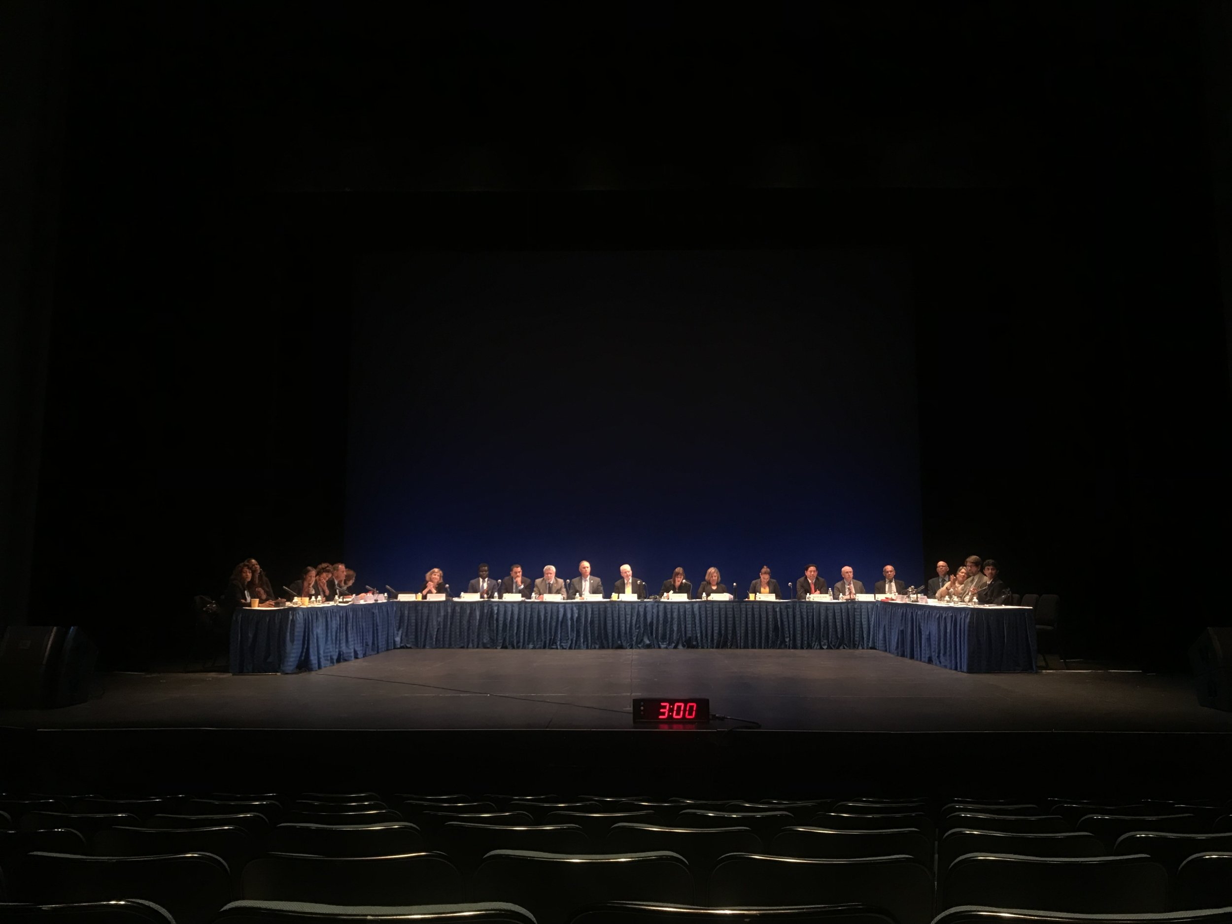 The CUNY Board of Trustees met at Hostos Community College in the Bronx.
