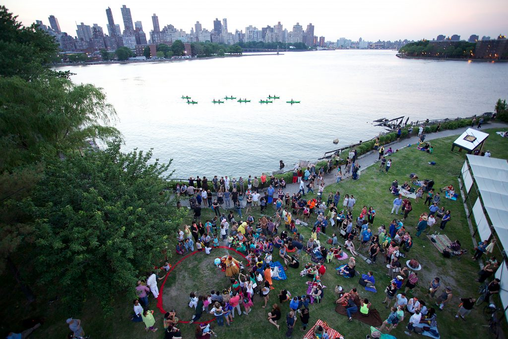 Enjoy live entertainment at the Summer Solstice festival. Photos Courtesy of QEDC.