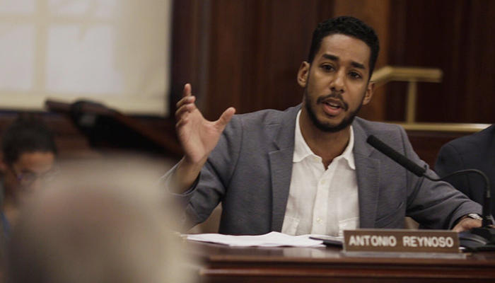 Ridgewood Councilmember Antonio Reynoso is on the Council's Transportation Committee. Photo via City Hall.