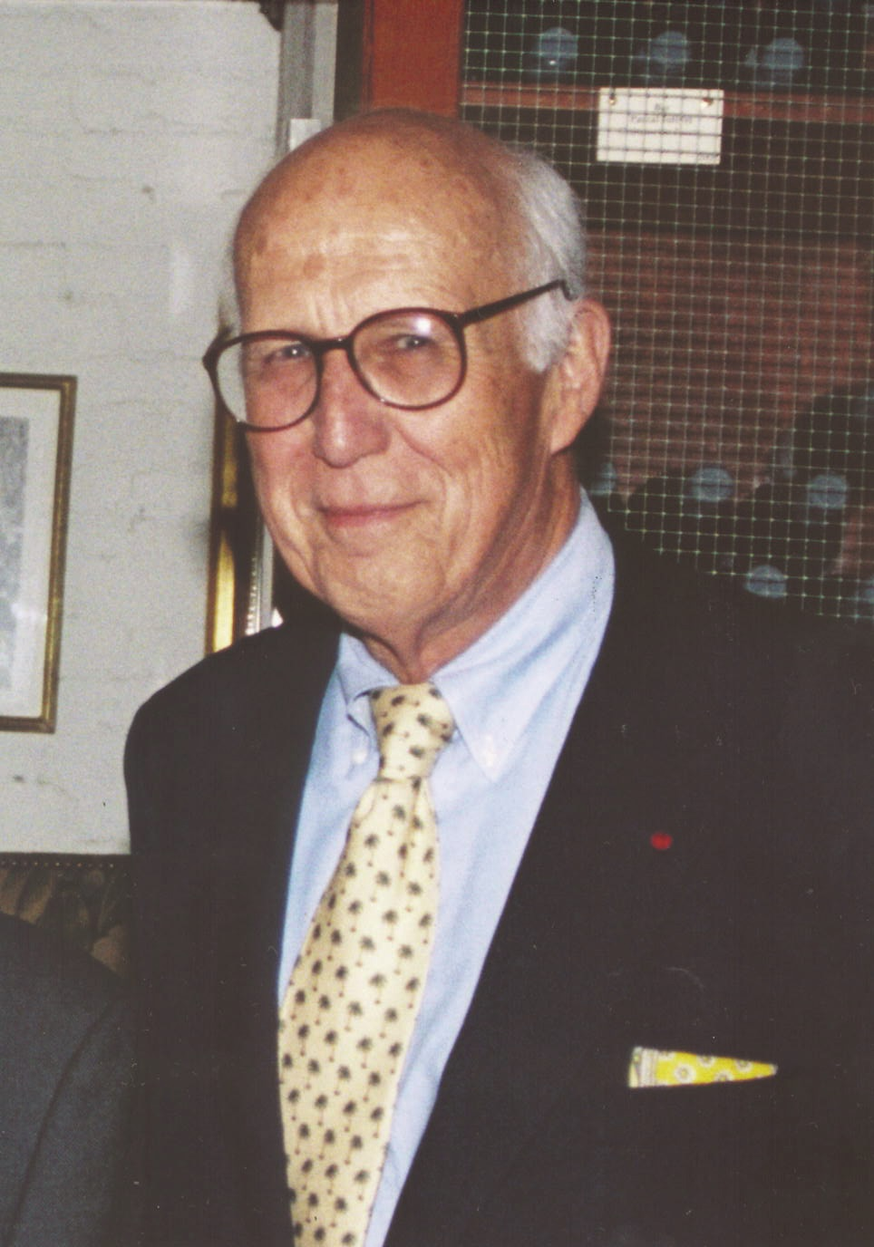 Whitney North Seymour, Jr. in 2008. Photo courtesy of the New York State Bar Association.