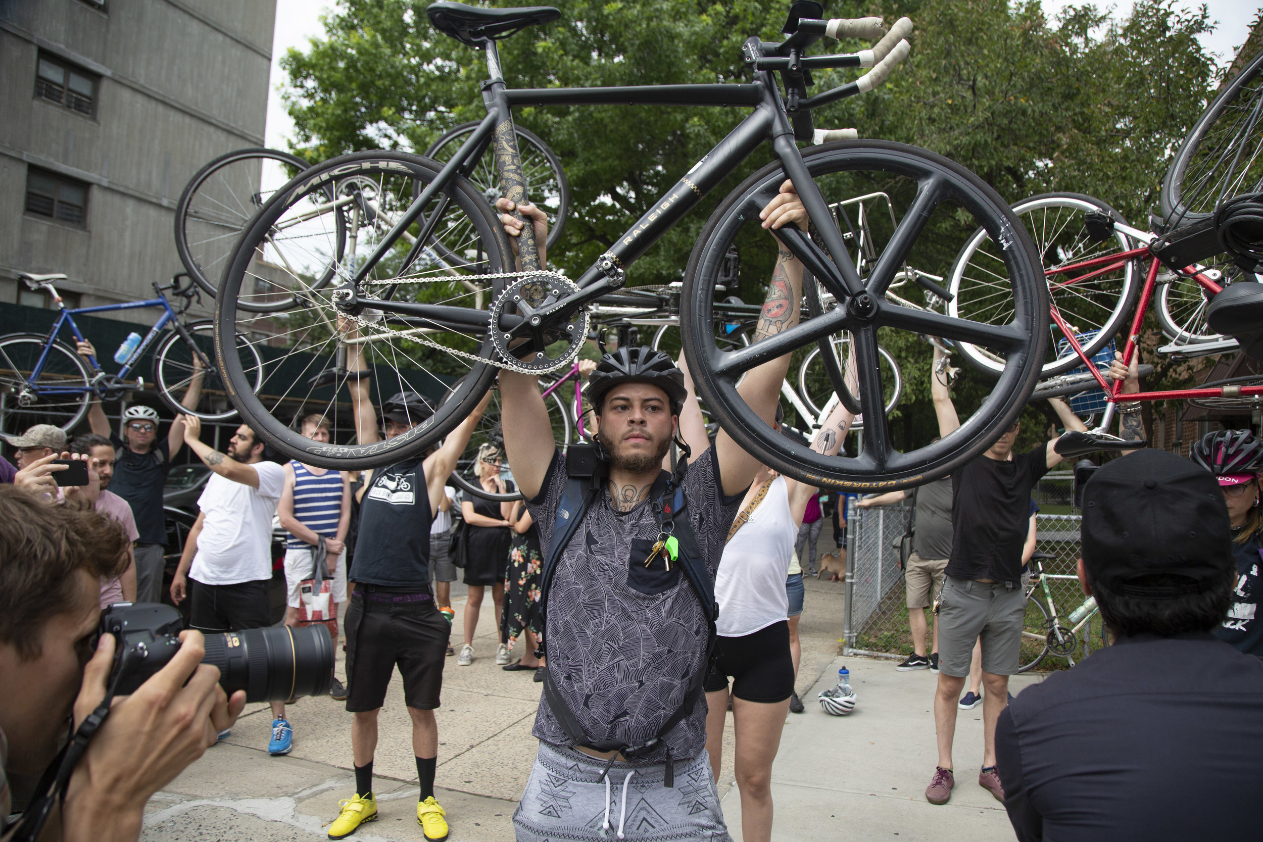 The cyclist crash 'crisis' is clear in these Queens
