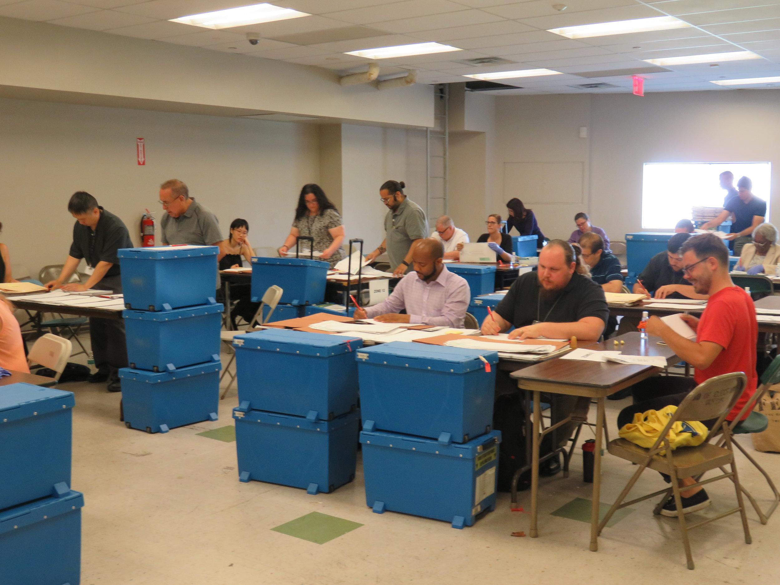 Ballots on ballots. Photo by David Brand