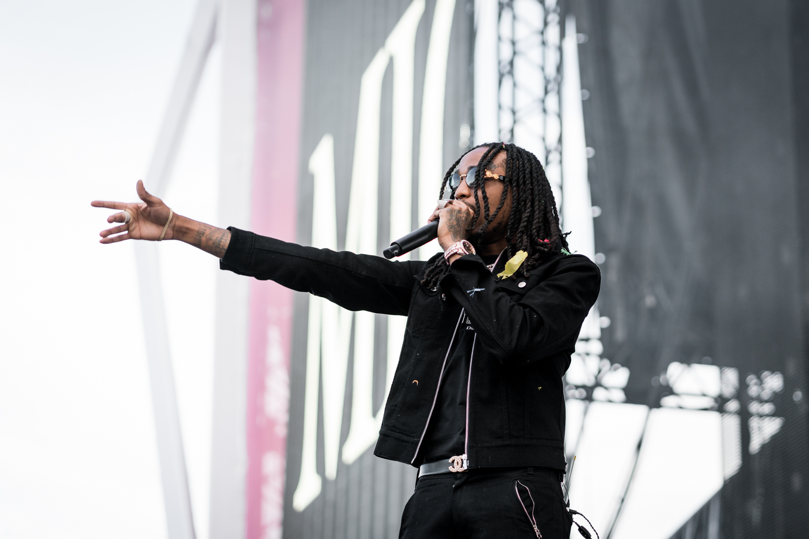 Migos, featuring Quavo, performed at the the May Rolling Loud festival in Miami. Photo by Jørund Føreland Pedersen via Wikimedia Commons