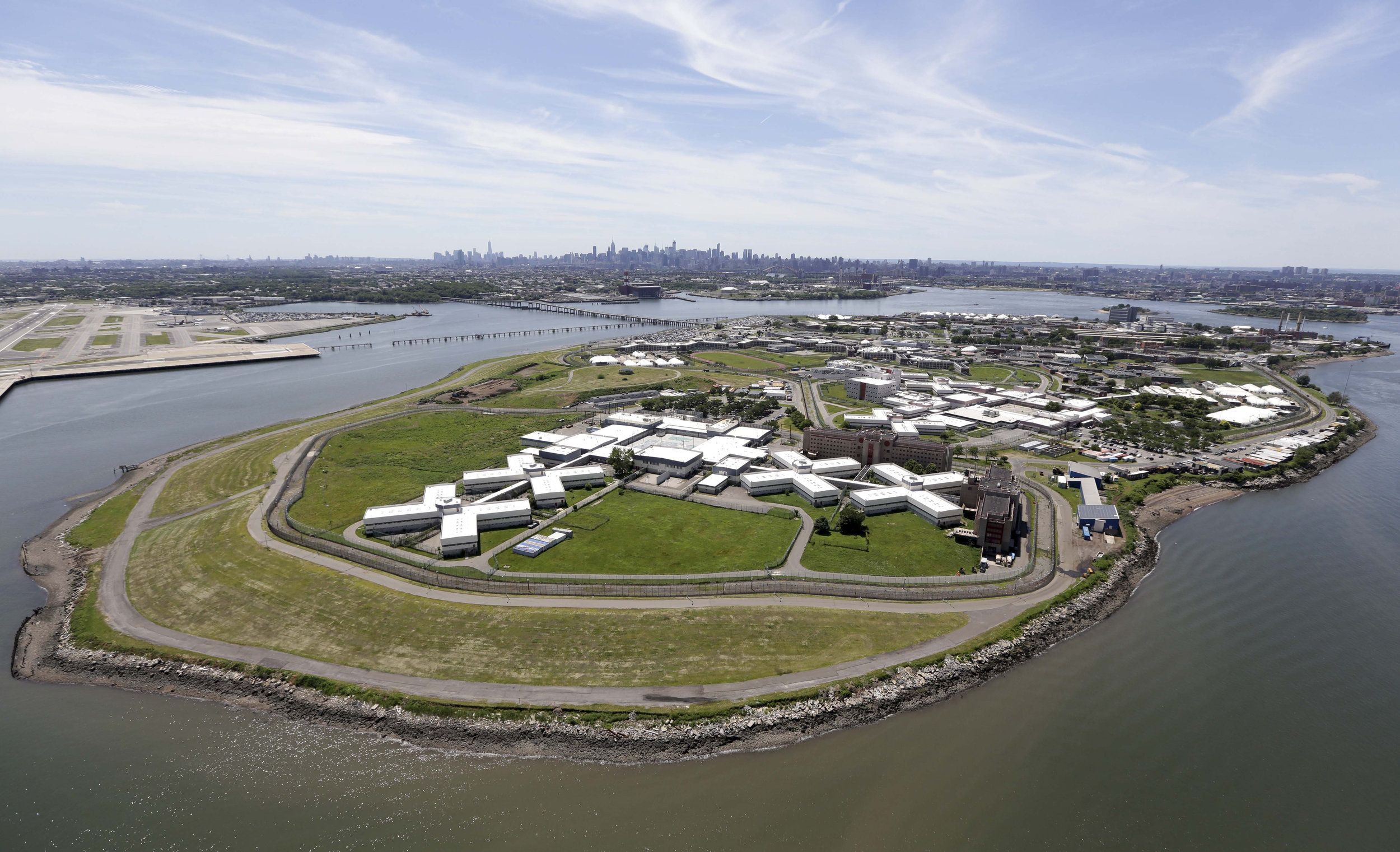 Rikers Island. AP Photo/Seth Wenig, File