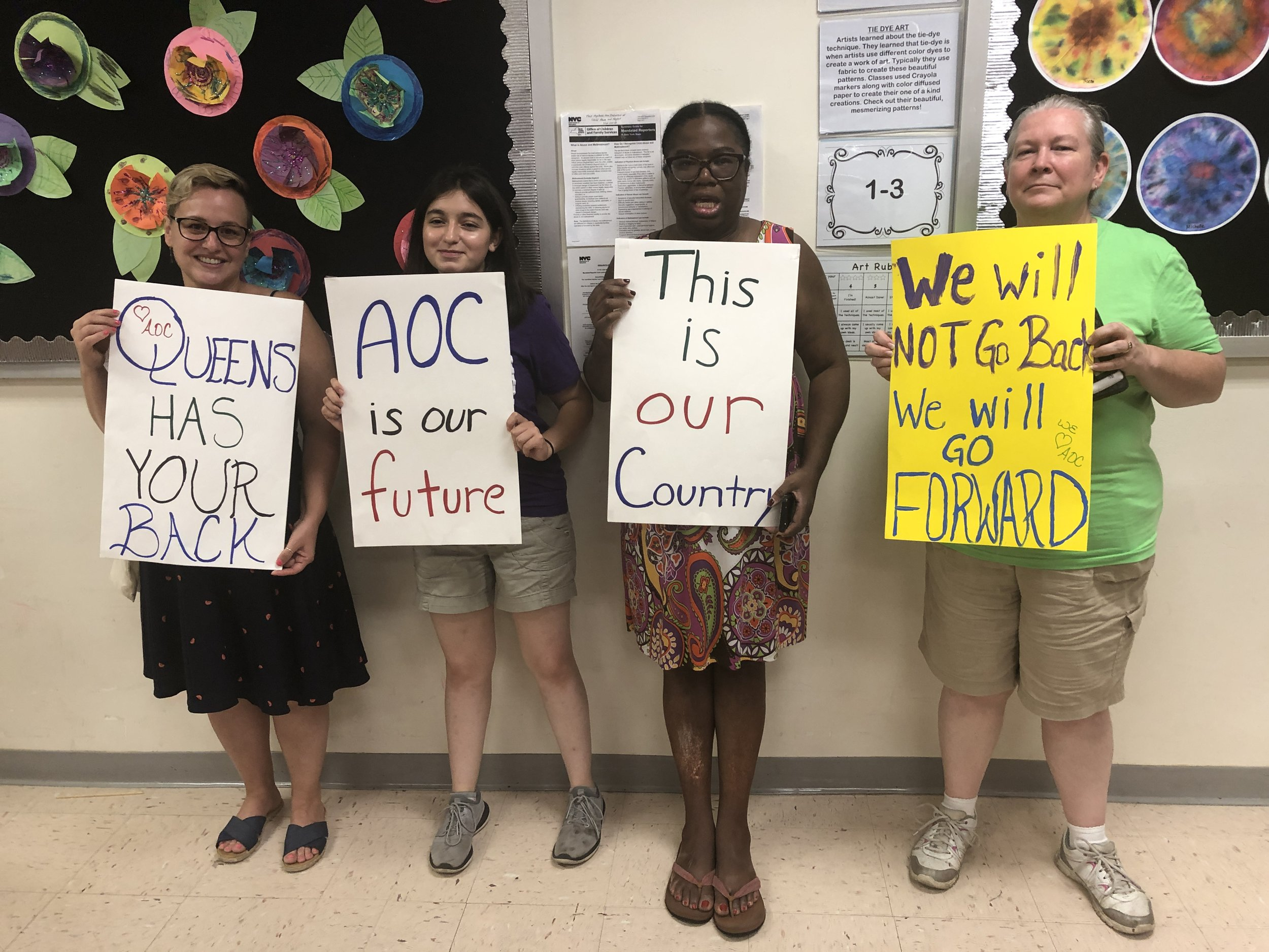 AOC's immigration town hall at Corona school inspires passionate ...