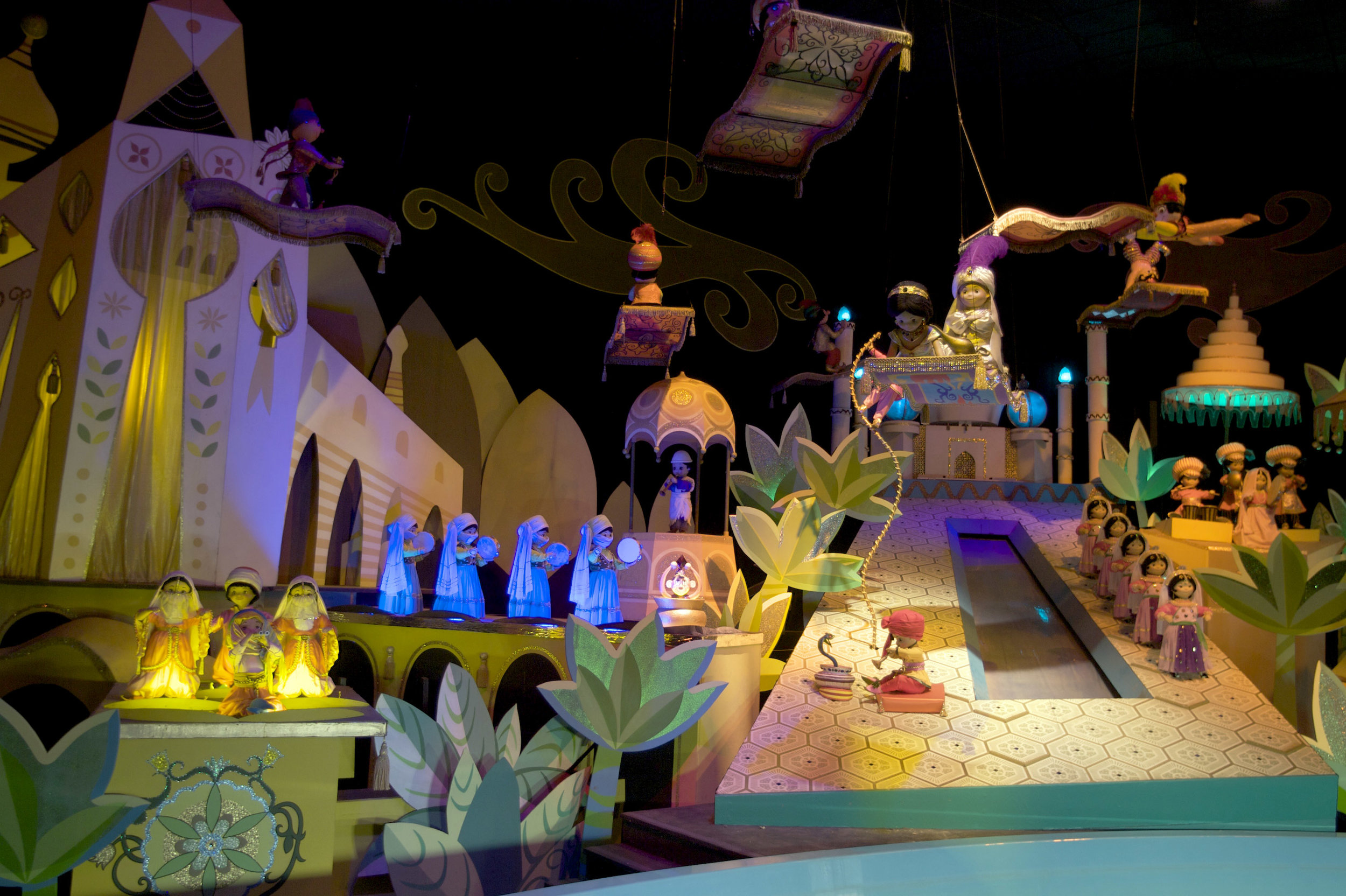 "Disneyland's ""It's A Small World"" still plays to visitors in Southern California … but the ride — and the song — didn't start there. AP Photo/Damian Dovarganes."