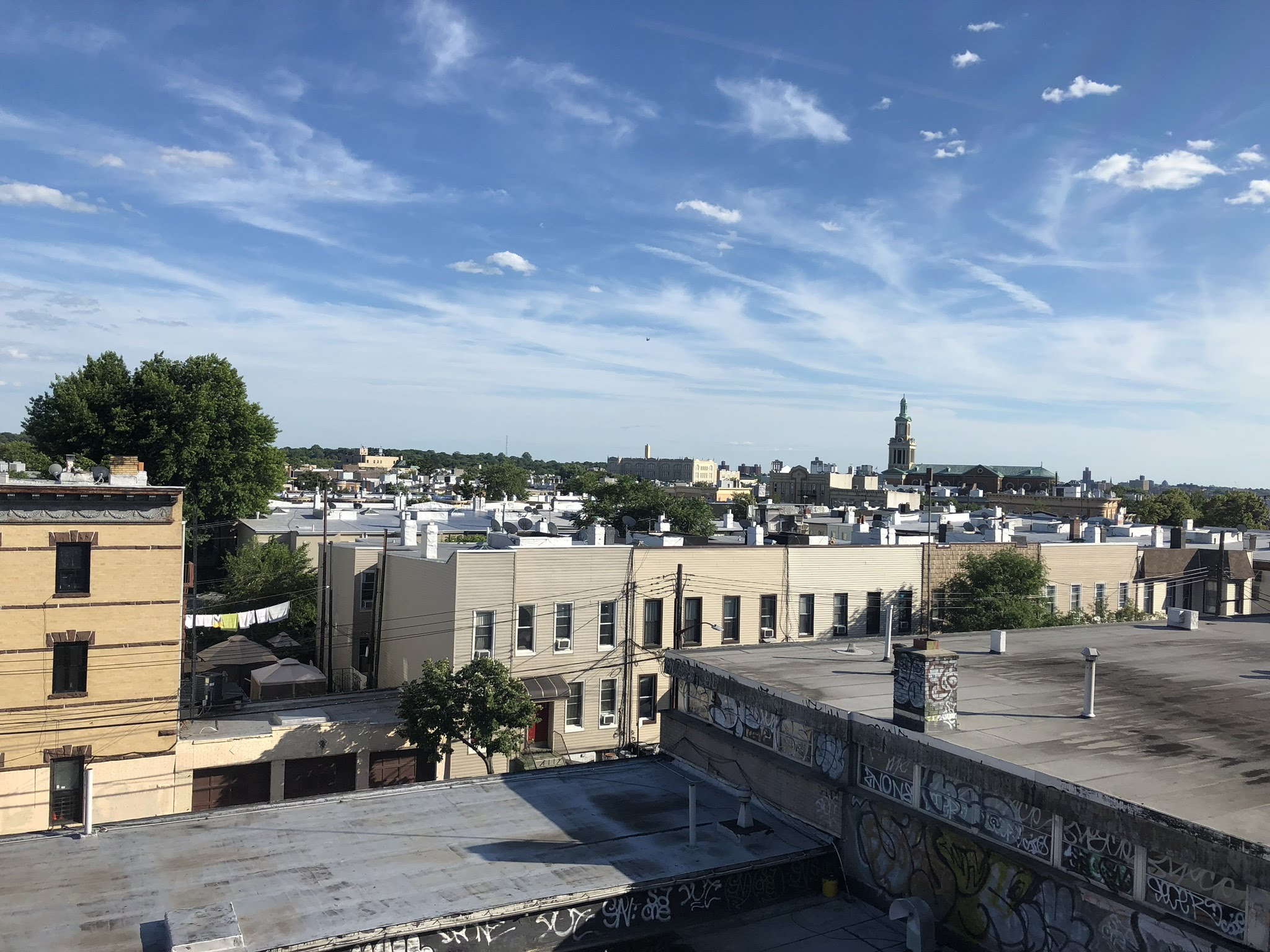 The view of pricey Ridgewood from a rooftop.  Eagle  file photos by David Brand.