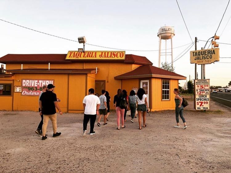 CUNY Law students visited Dilley, Texas. Photos courtesy of CUNY Law.