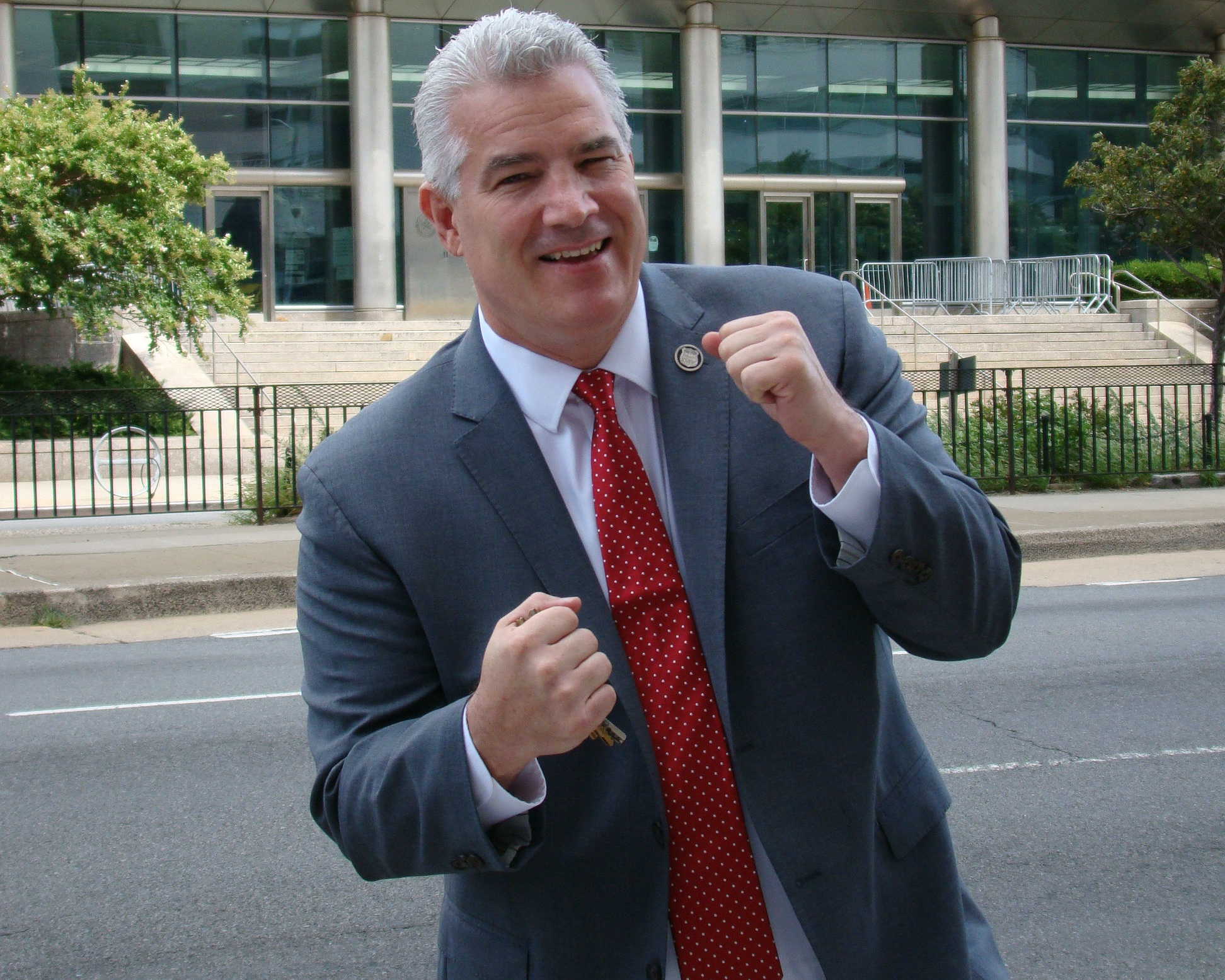 Defense attorney Joe Murray is the Republican candidate for Queens DA. Photo courtesy of Murray.