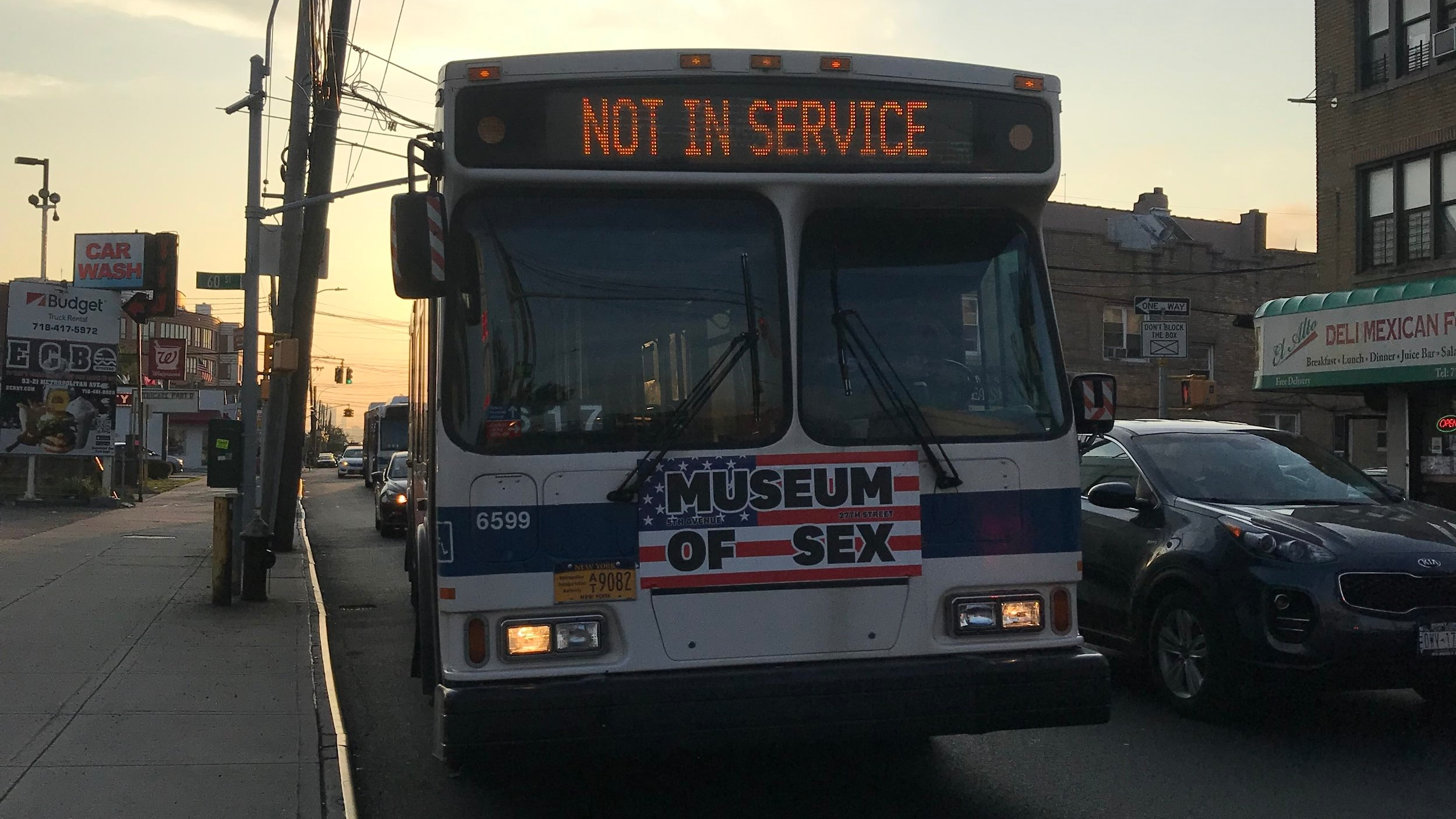 St. Albans residents are asking the MTA to extend Q42 service to help older residents.  Eagle  file photo by David Brand.