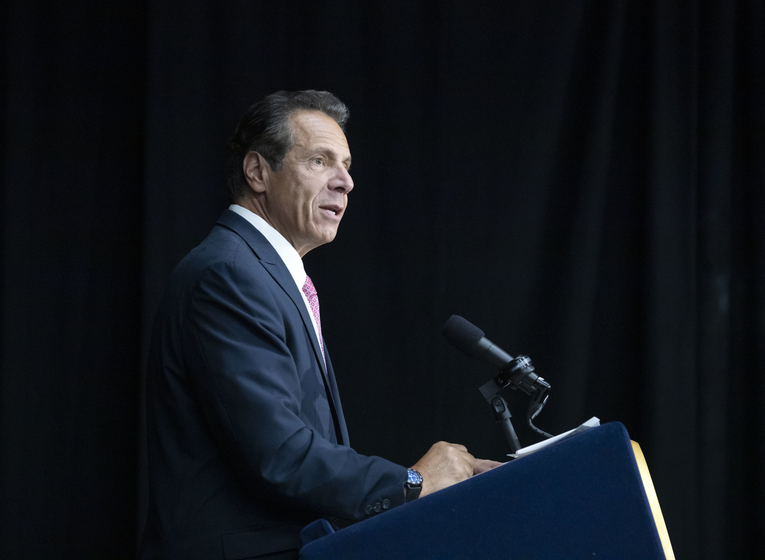 Gov. Andrew Cuomo signed a law that would close a loophole that enabled predatory lenders to target thousands of small businesses. AP Photo.