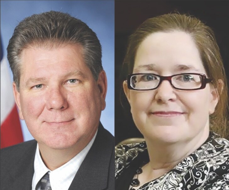 Six-term Assemblymember Michael DenDekker (left) will face his first primary opponents, including former Manhattan prosecutor Nuala O'Doherty. Photos courtesy of DenDekker's Office and O'Doherty