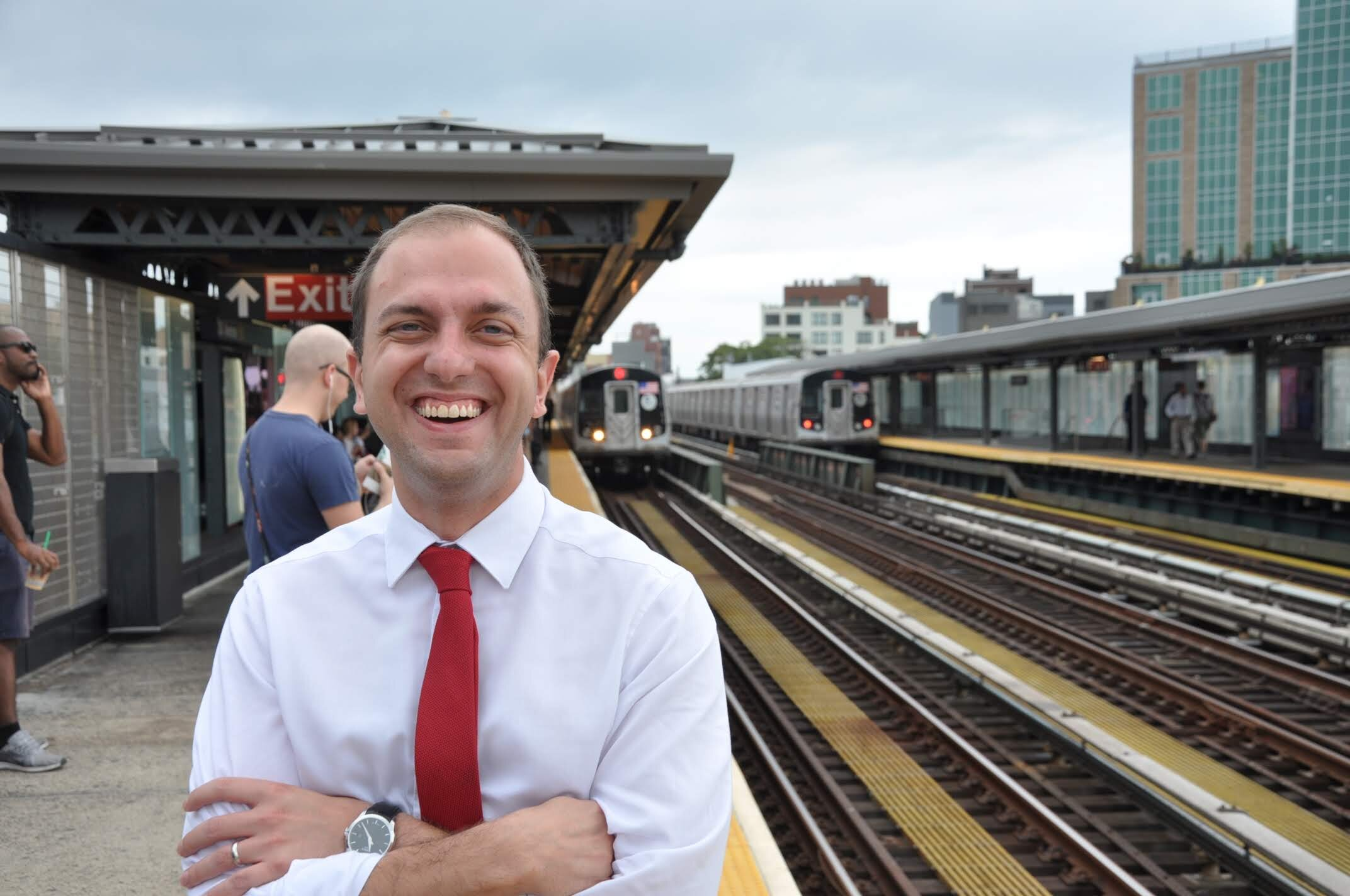 Nick Roloson, chief of staff for Councilmember Costa Constantinides, is running for his boss' seat representing District 22. Photo courtesy of Roloson.