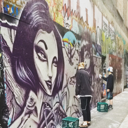 Hosier lane was my absolute favorite, but the graffiti is always changing so you'll have to see for yourself :)