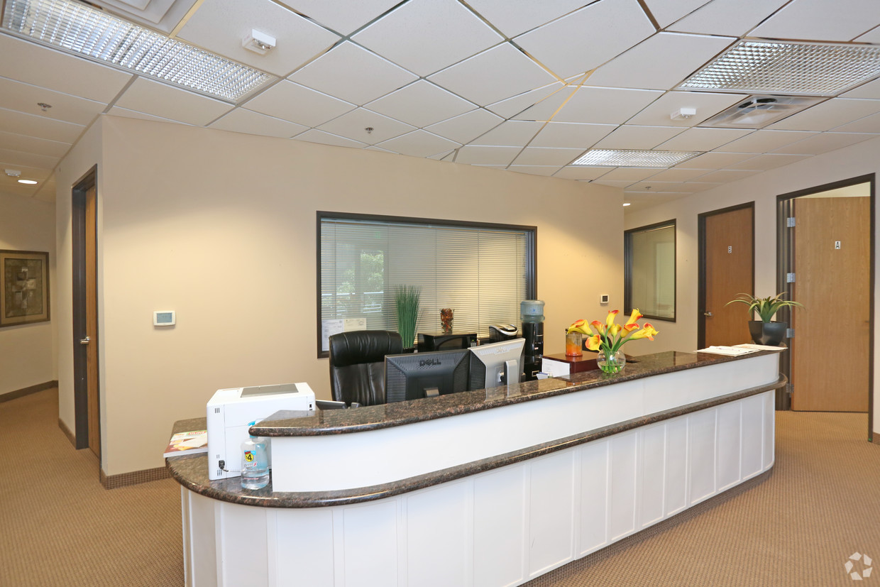 Executive Suite Reception Area