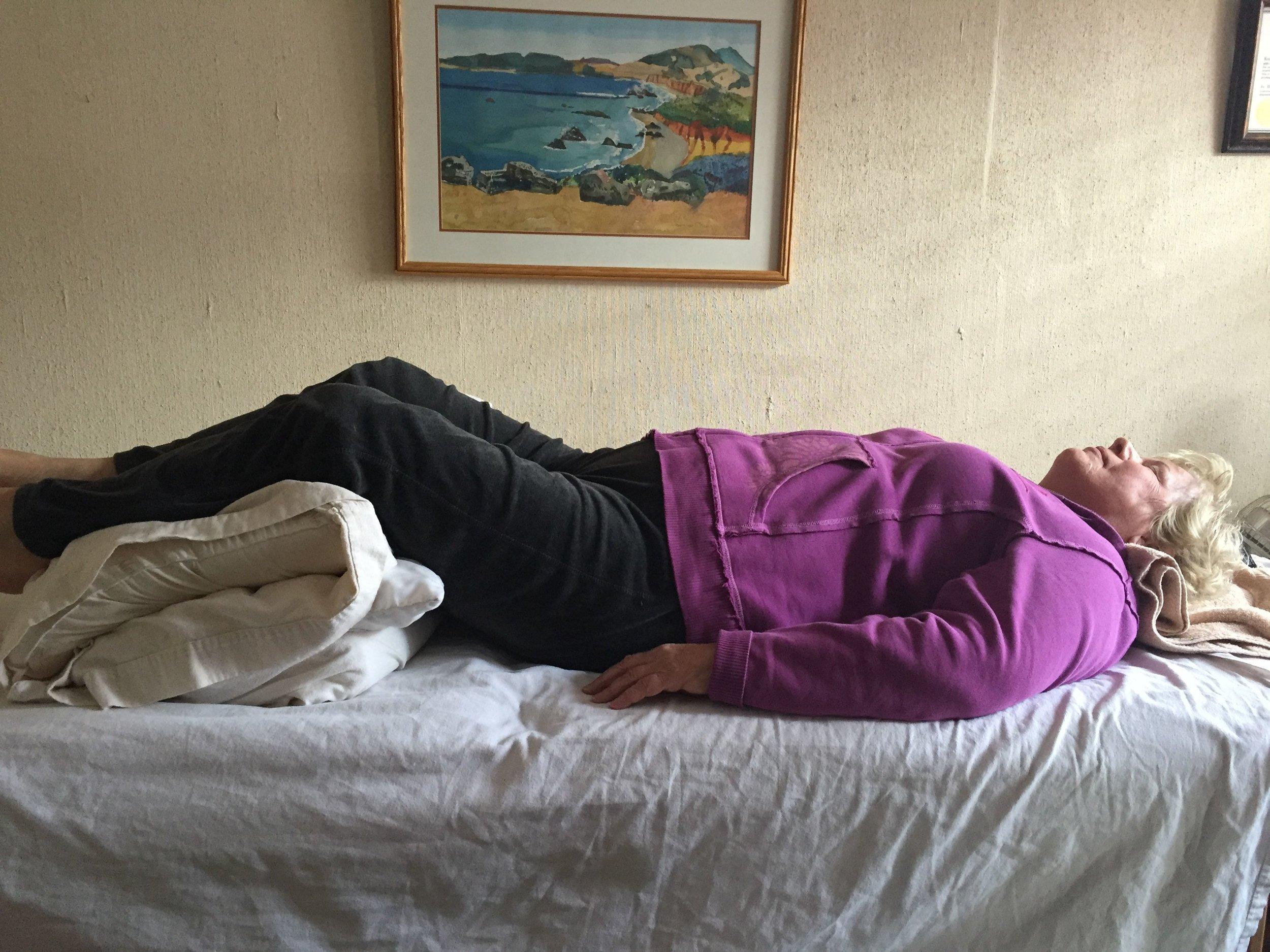 pose to decrease back pain