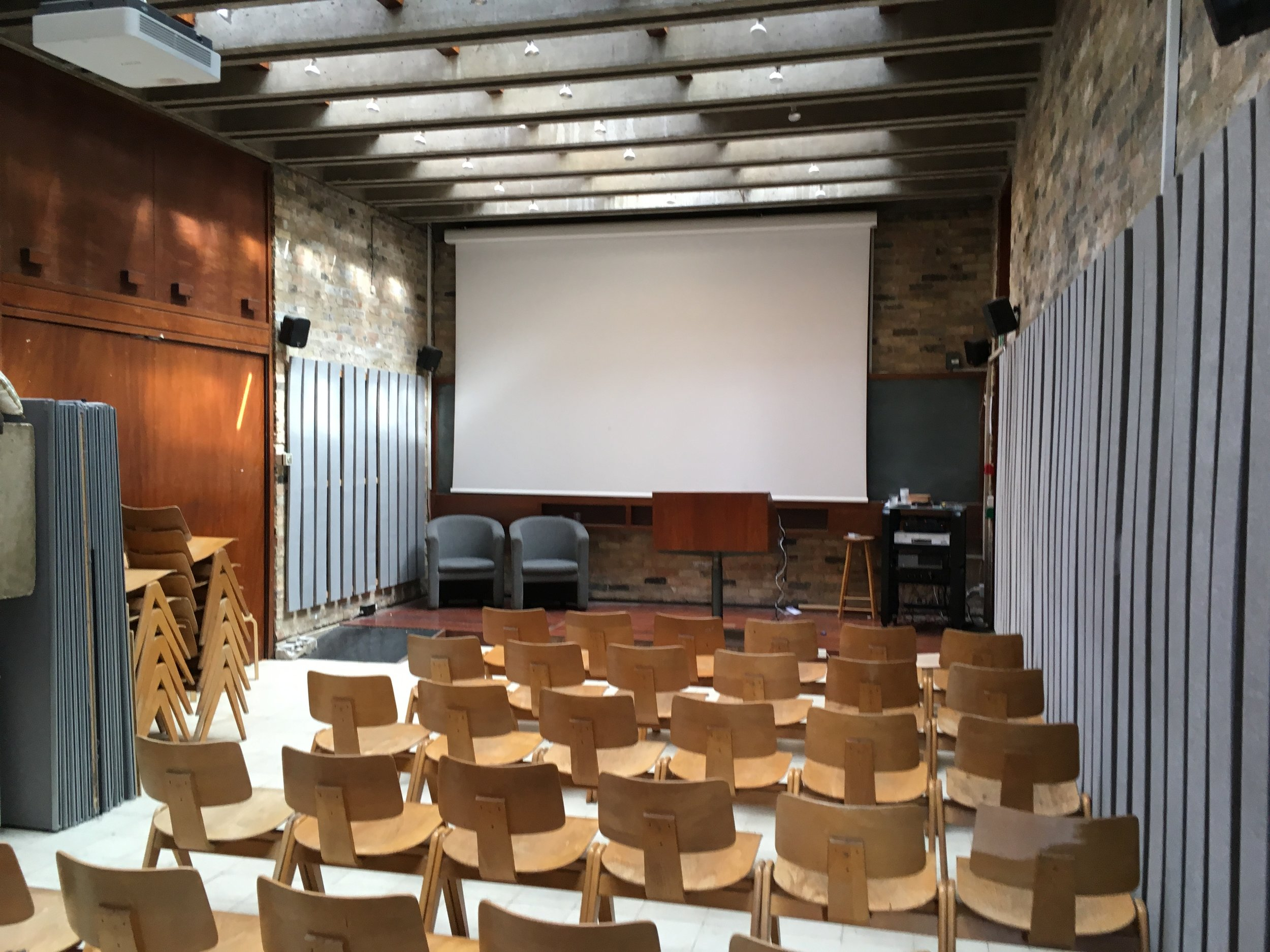 Lecture Theatre by Sir Colin St John Wilson