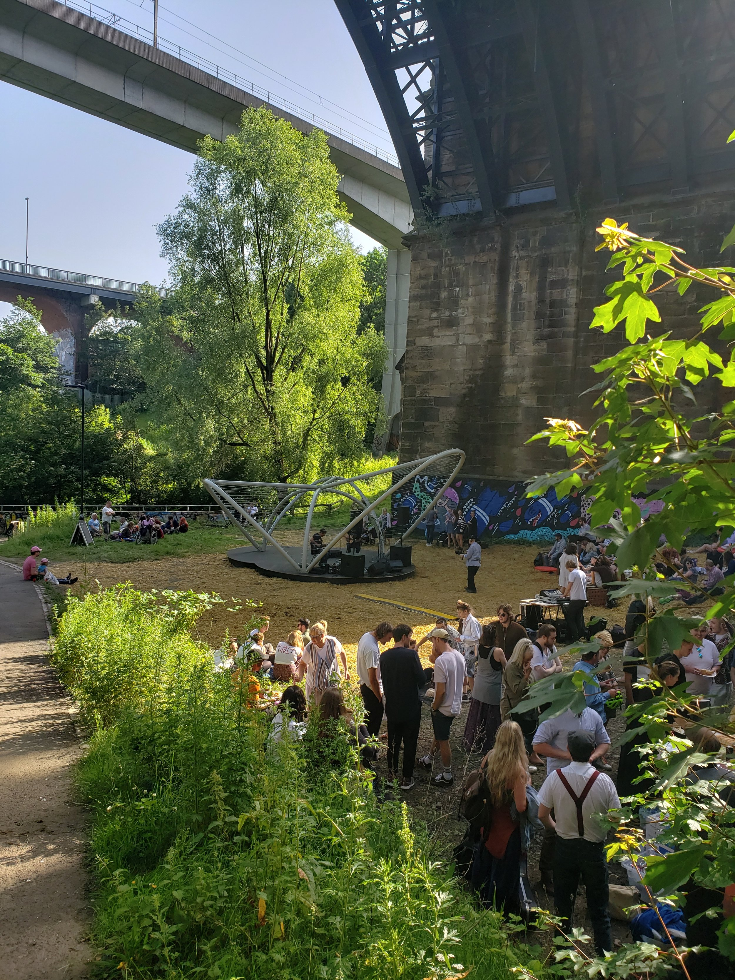 Ouseburn Bandstand - Opening Event