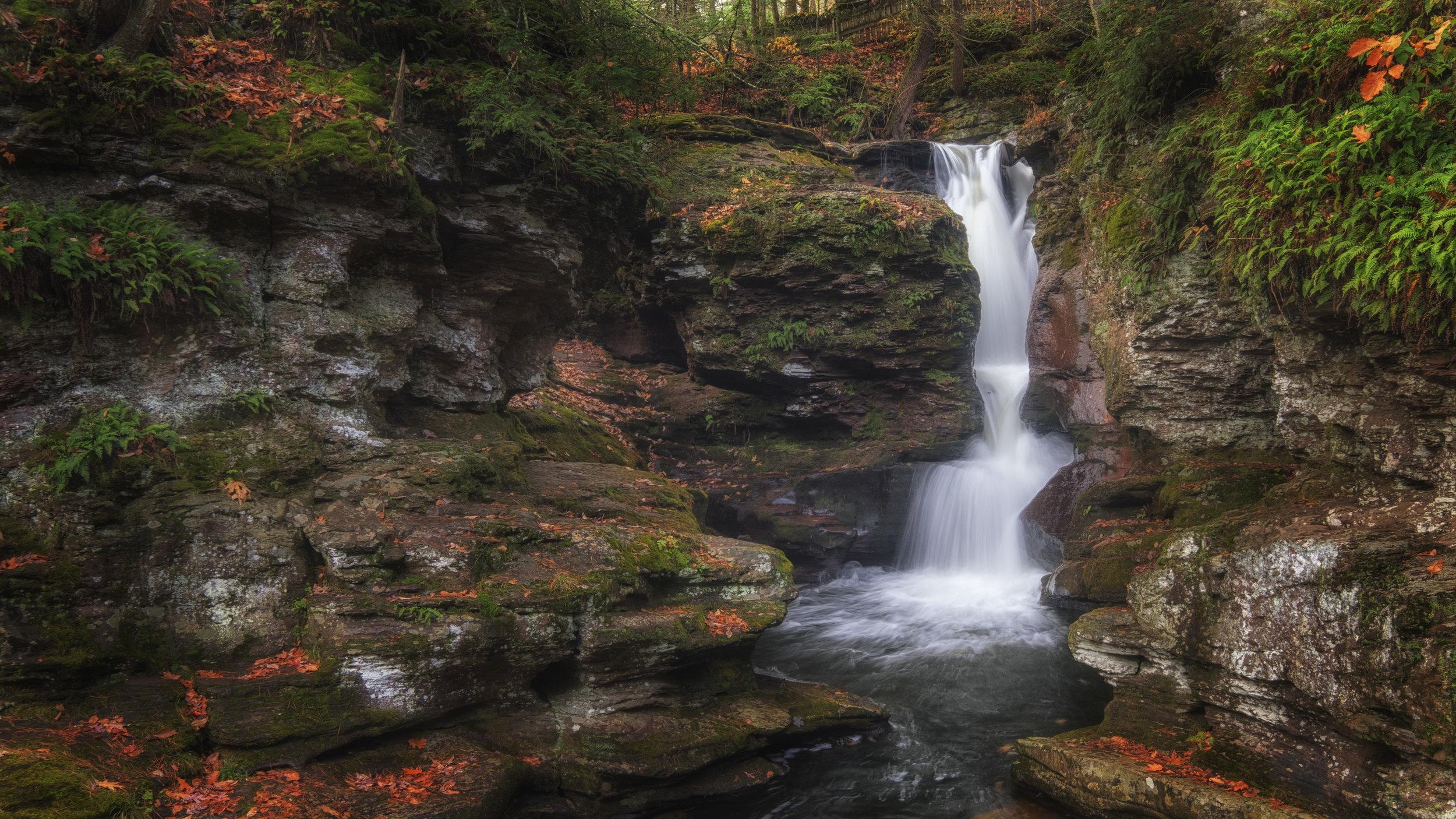 Allen Falls, Pennsylvania