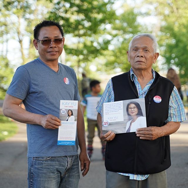 Yesterday, our friend @naroen_universe shared his family's story as we got out the vote in South Philly. Naroen was born in a refugee camp during the Cambodian Genocide, and his now 86 year old father was placed in a labor camp. Exercising his right to vote is so important to Naroen because he knows the cost of living in a society without the rule of law.  Although we wish the results of yesterday's election were different, we are so proud to have stood with Naroen and thousands of Philadelphians to reach for equal access to justice for all. This campaign was never about just one person winning an election. It was about the collective power of we to transform our city. From immigrant communities long overlooked in local politics to returning citizens trying to reclaim their lives, Philadelphians affected by inequity are taking the lead on strengthening our city. Where our campaign fell short, we are sure these folks will pick up the mantle, and they can count on our support. Onward ✨